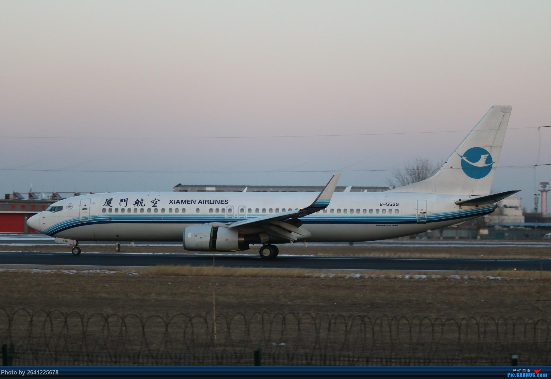 Re:[原创]pek寒风下的守候 BOEING 737-800 B-5529 中国北京首都国际机场