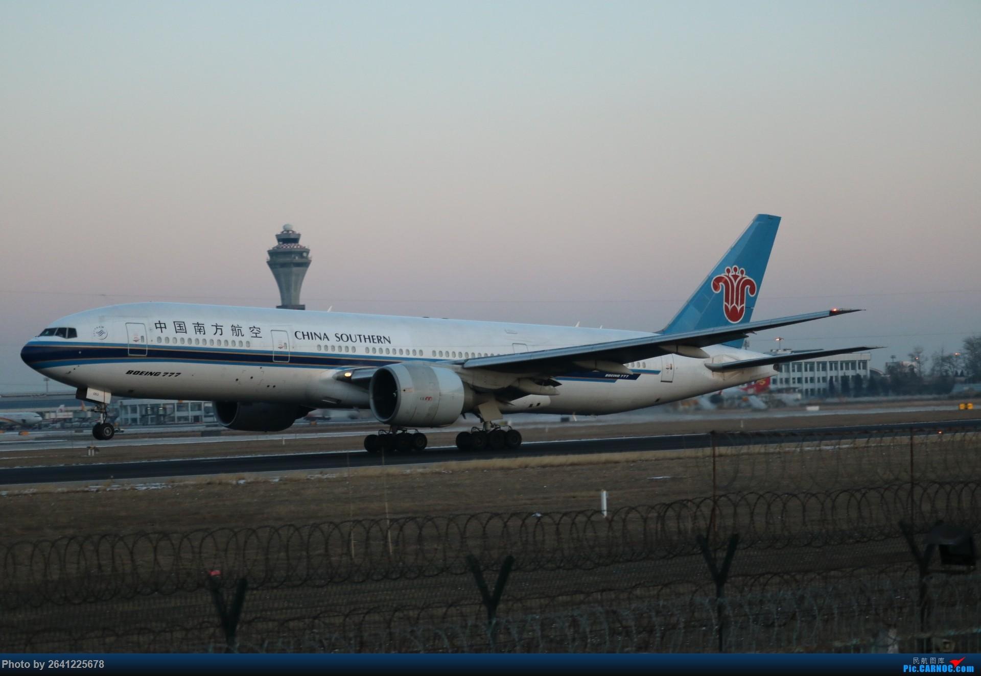 Re:[原创]pek寒风下的守候 BOEING 777-200 B-2053 中国北京首都国际机场
