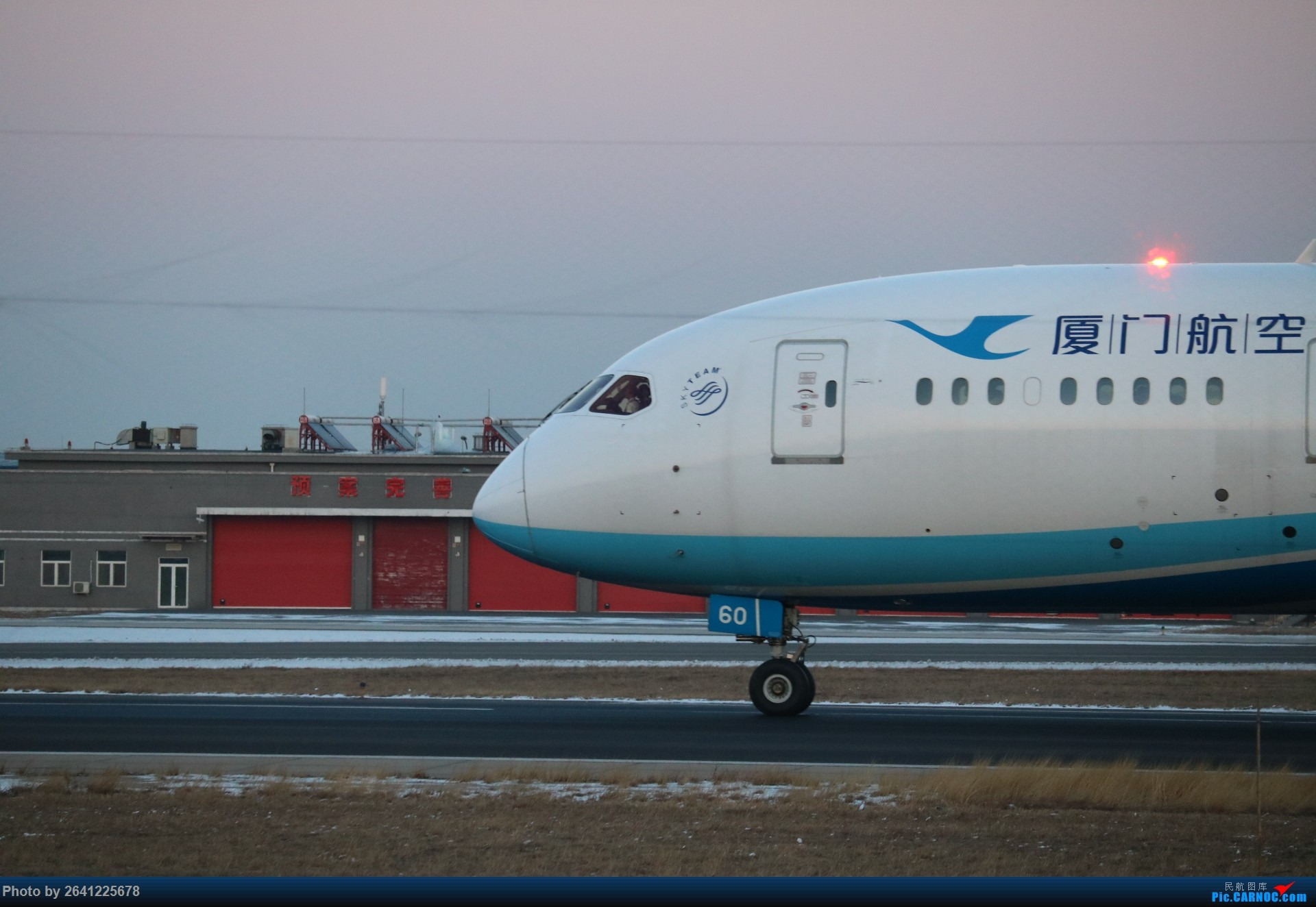 Re:[原创]pek寒风下的守候 BOEING 787-8 B-2760 中国北京首都国际机场