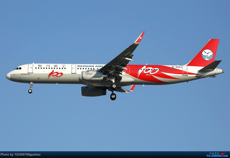 [原创]川农100附送杂图一批 AIRBUS A321-200 B-1663 北京首都机场