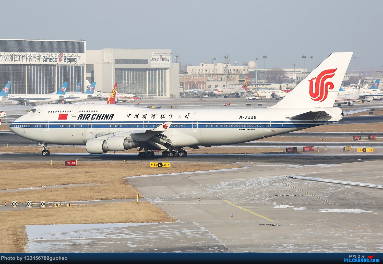 Re:[原创]川农100附送杂图一批 BOEING 747-400 B-2445 北京首都机场