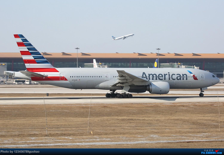 Re:[原创]川农100附送杂图一批 BOEING 777-200 N766AN 北京首都机场