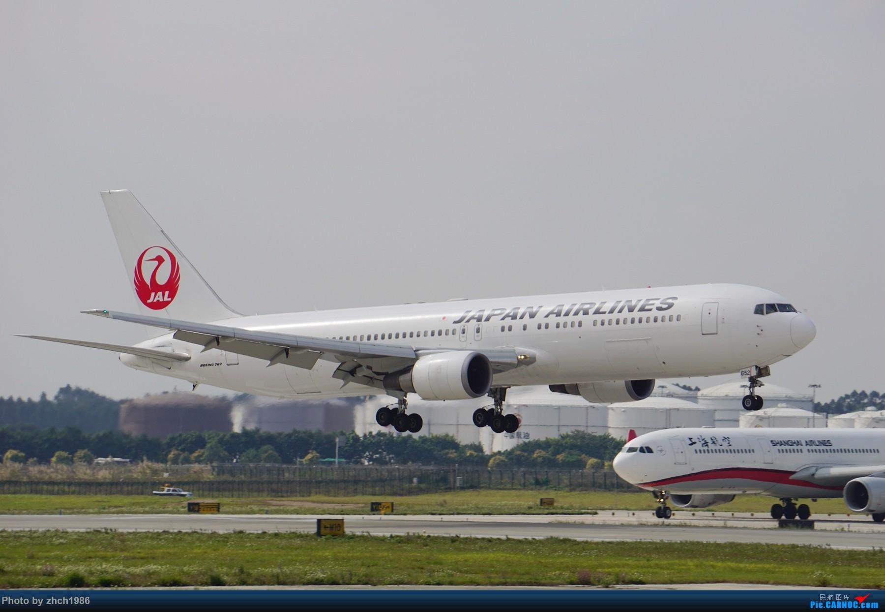 Re:[原创]【南充飞友会】CAN东二 一些起飞 一些降落 BOEING 767 JA652J 中国广州白云国际机场
