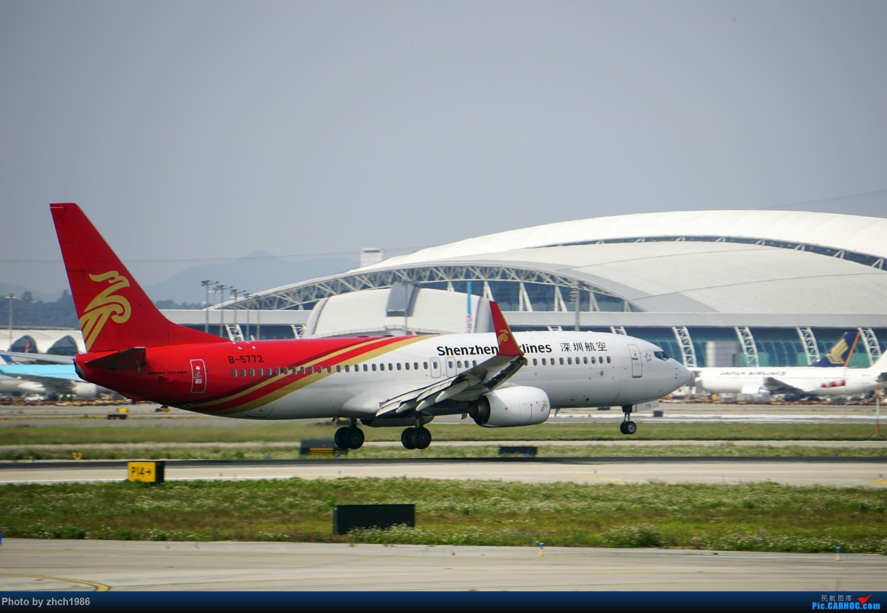 Re:[原创]【南充飞友会】CAN东二 一些起飞 一些降落 BOEING 737-800 B-5772 中国广州白云国际机场