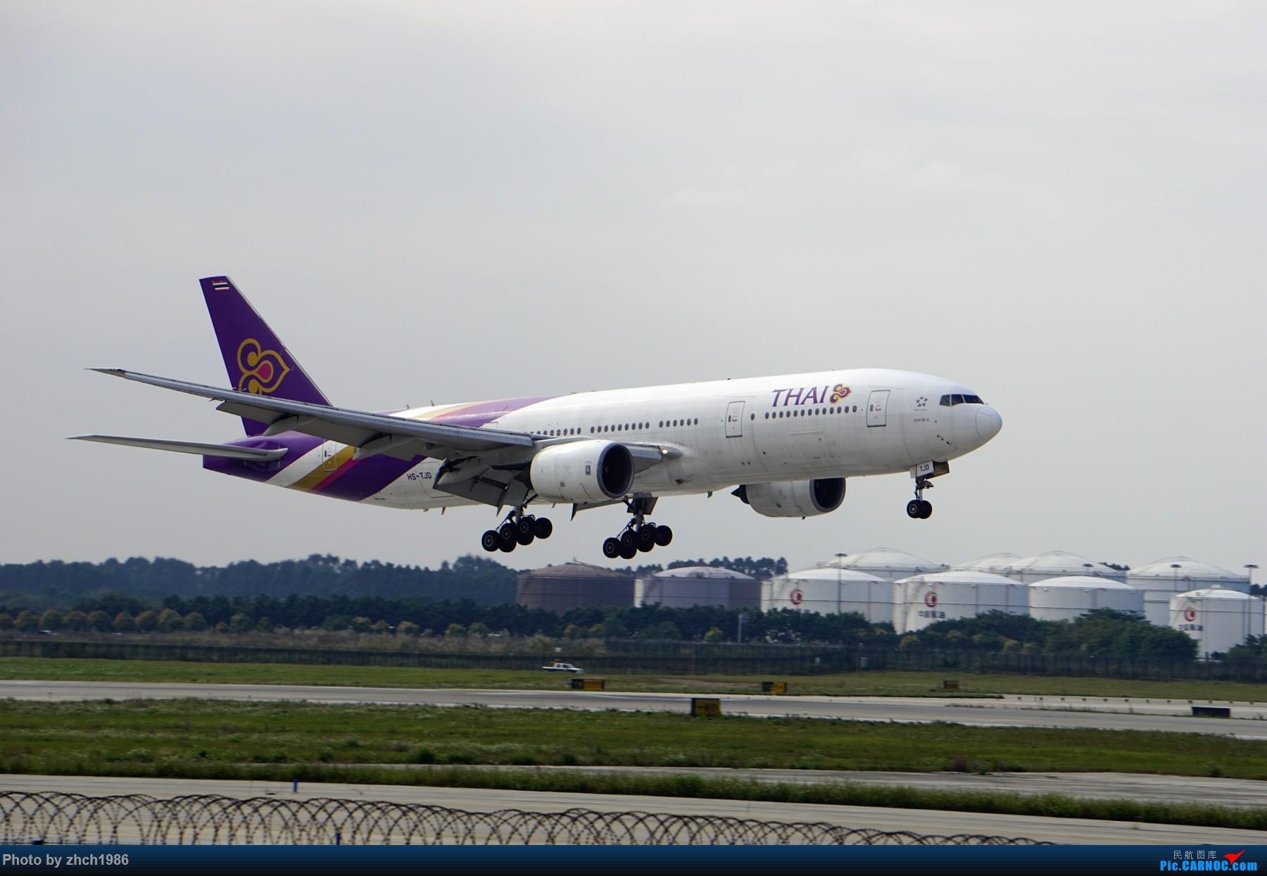Re:[原创]【南充飞友会】CAN东二 一些起飞 一些降落 BOEING 777-200 HS-TJD 中国广州白云国际机场
