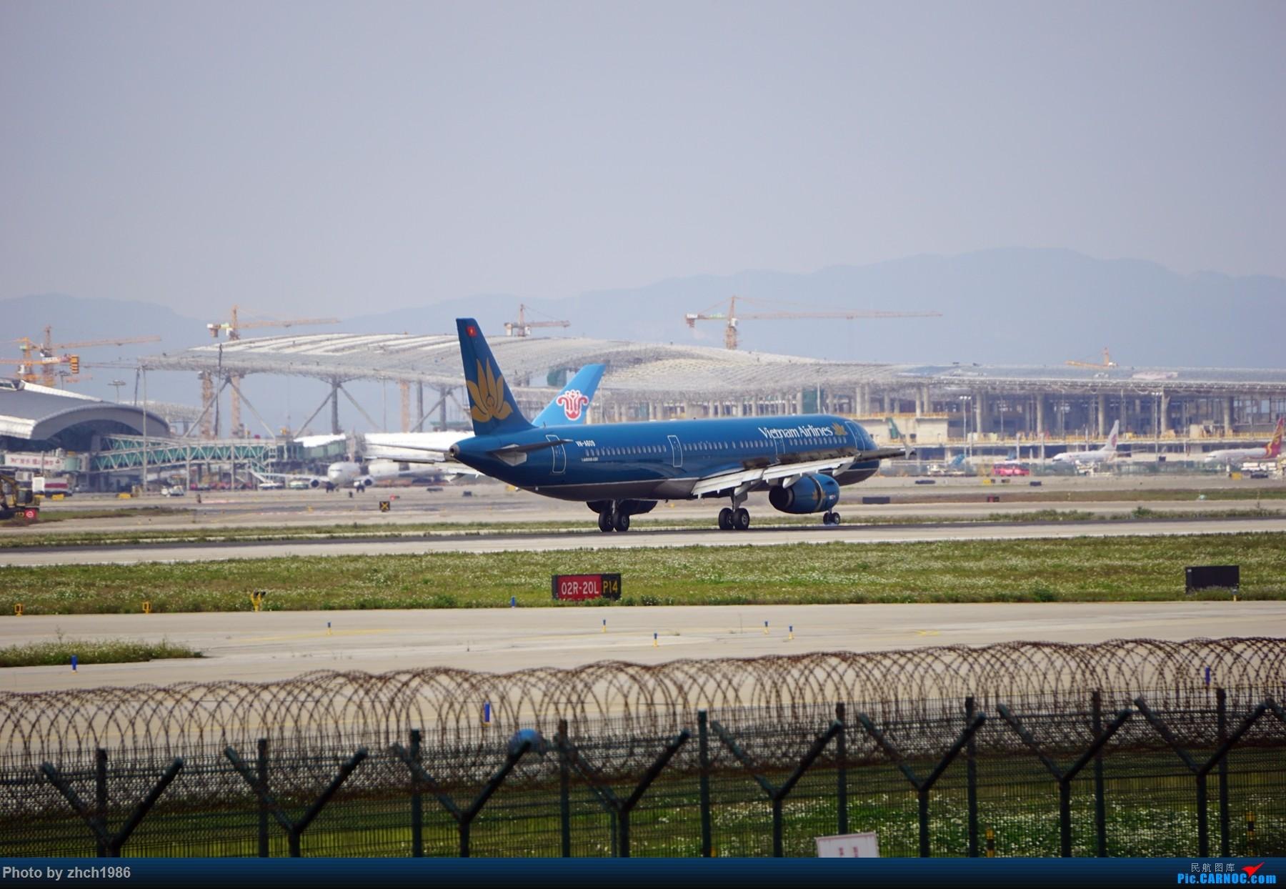 Re:[原创]【南充飞友会】CAN东二 一些起飞 一些降落 AIRBUS A321 YN-A609 中国广州白云国际机场