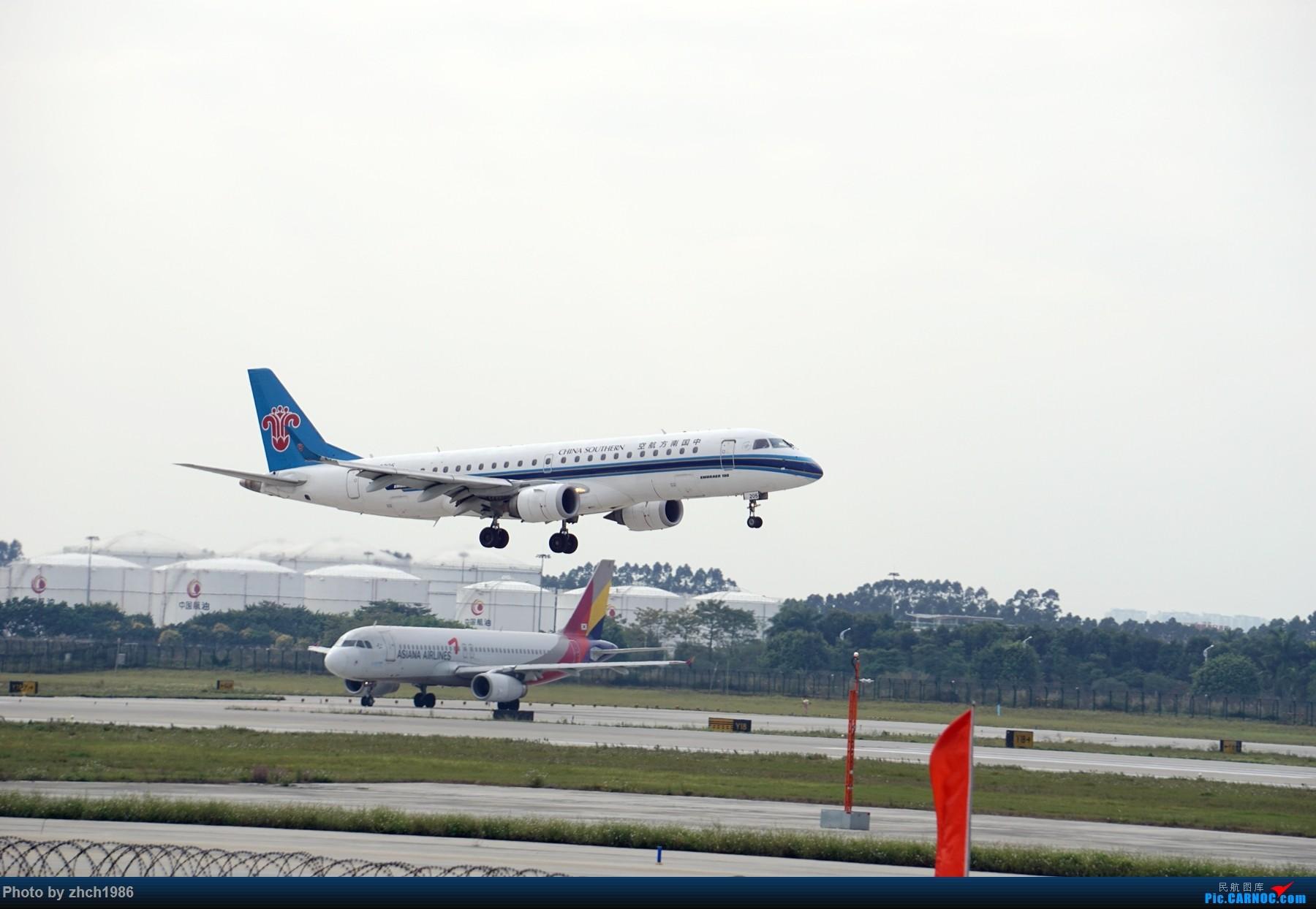 Re:[原创]【南充飞友会】CAN东二 一些起飞 一些降落 EMBRAER E-190 B-3205 中国广州白云国际机场
