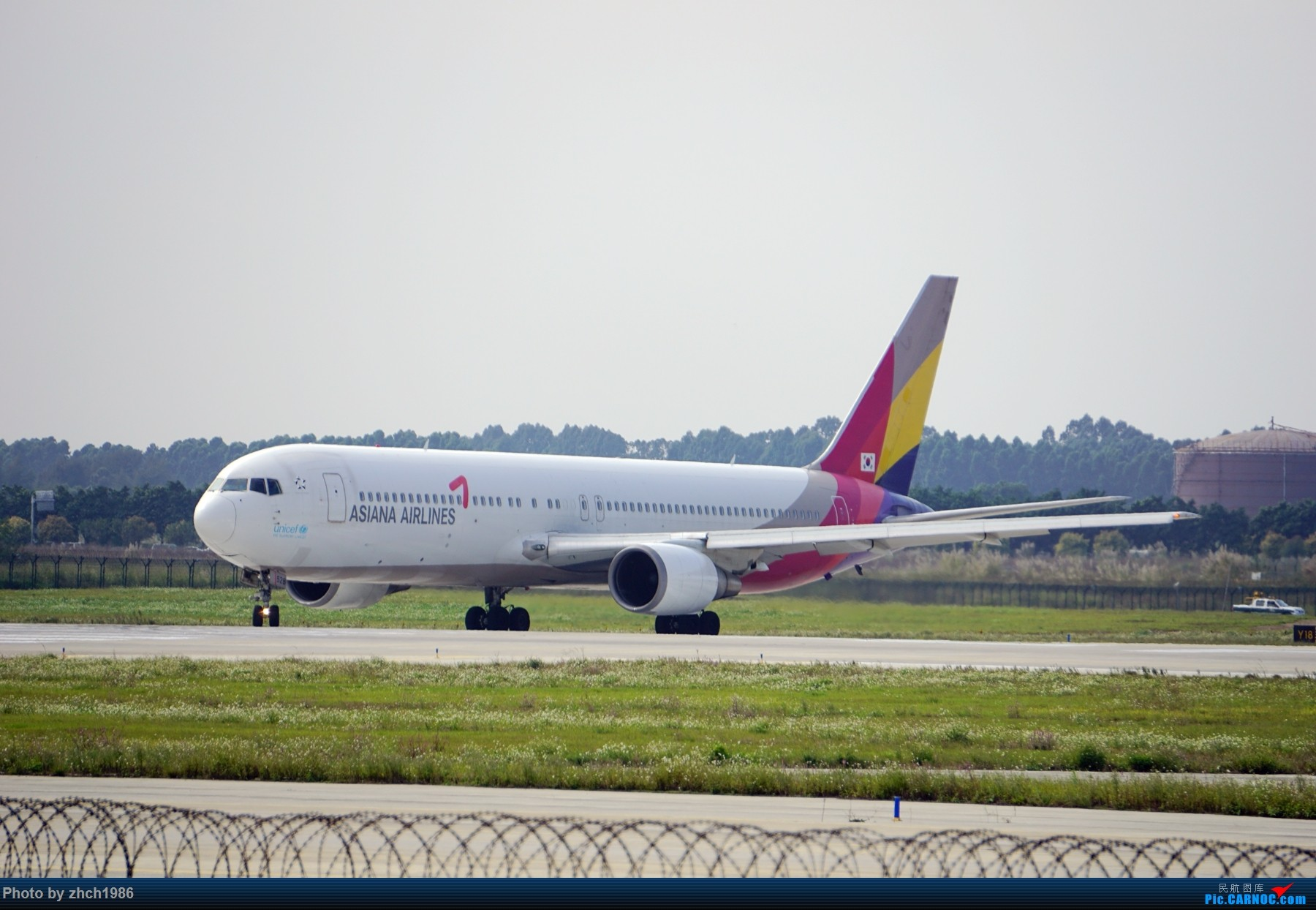 Re:[原创]【南充飞友会】CAN东二 一些起飞 一些降落 BOEING 767 HL7528 中国广州白云国际机场