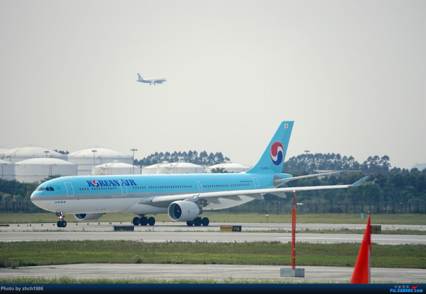 Re:[原创]【南充飞友会】CAN东二 一些起飞 一些降落 AIRBUS A330 HL8026 中国广州白云国际机场