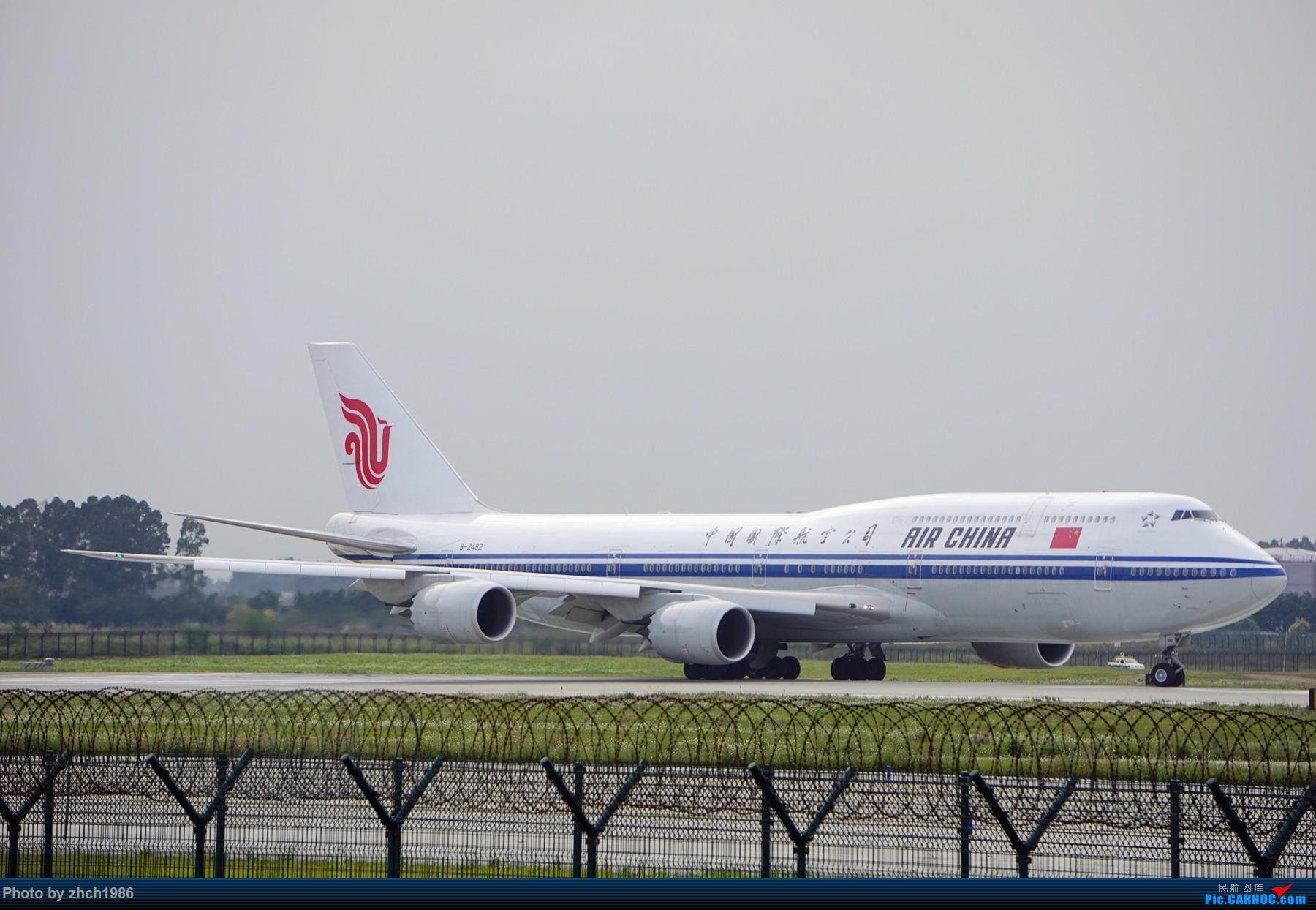 Re:[原创]【南充飞友会】CAN东二 一些起飞 一些降落 BOEING 747-8I B-2482 中国广州白云国际机场