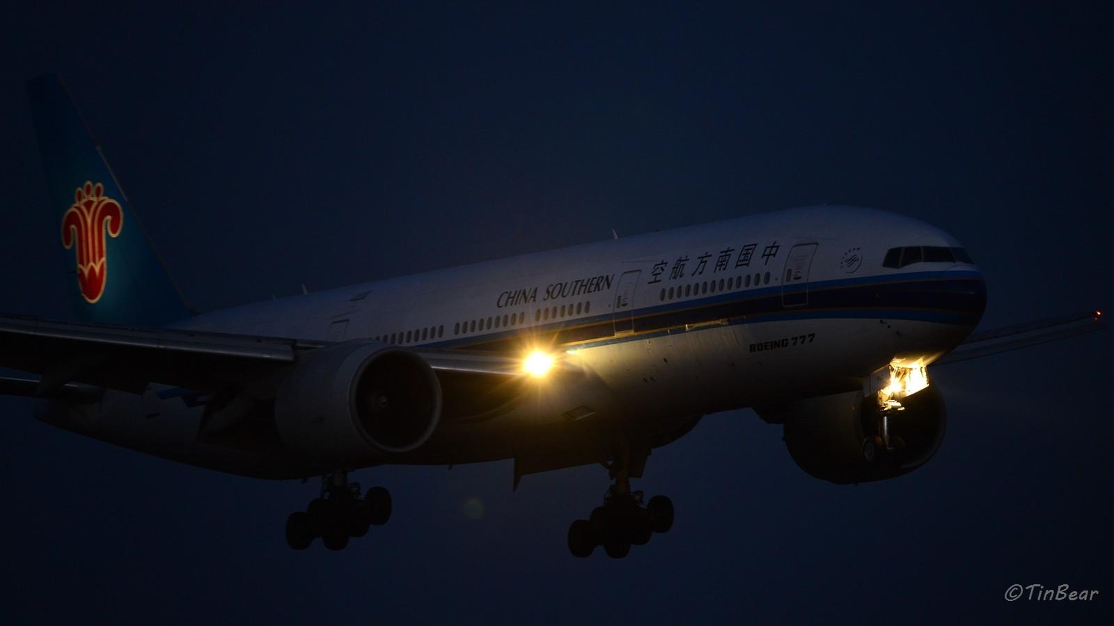 Re:暮光长水,日落之后同样精彩 BOEING 777-200 B-2053 中国昆明长水国际机场