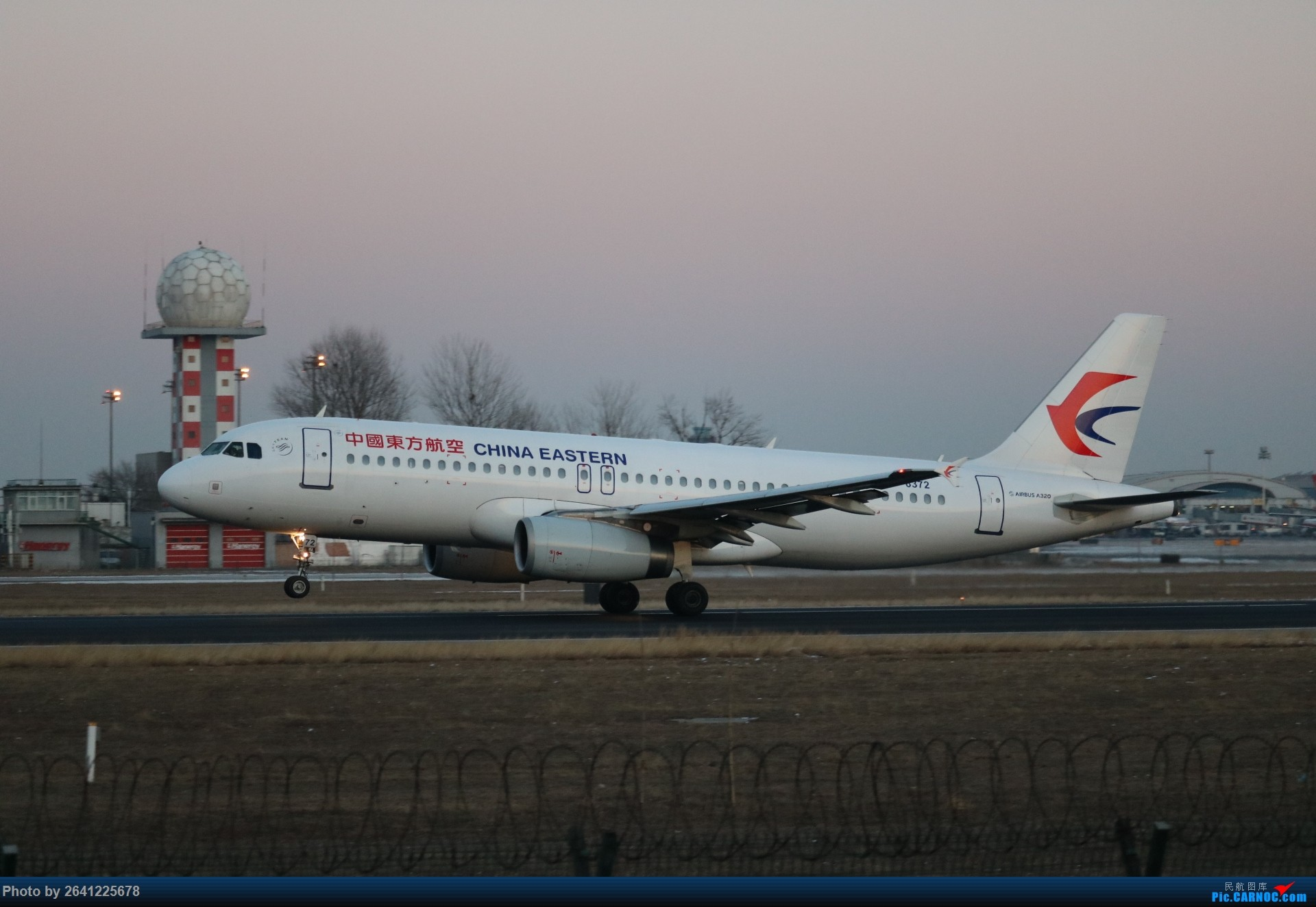 Re:[原创]pek寒风下的守候 AIRBUS A320-200 B-6372 中国北京首都国际机场