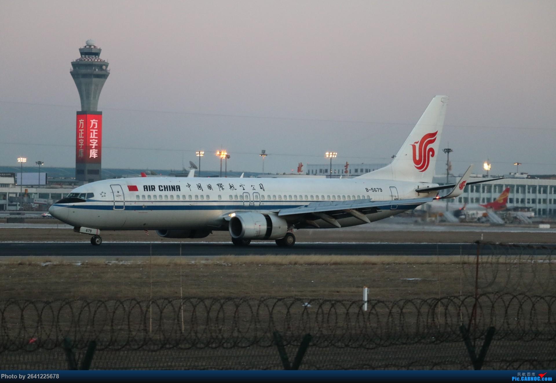 Re:[原创]pek寒风下的守候 BOEING 737-800 B-5679 中国北京首都国际机场