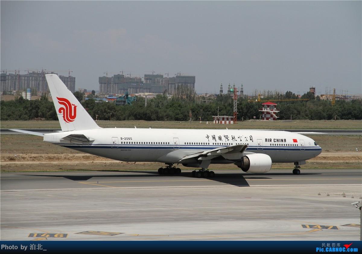 [原创]URC BOEING 777-200 B-2065 中国乌鲁木齐地窝堡国际机场