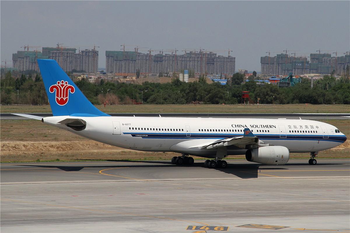 Re:[原创]URC AIRBUS A330-200 B-6077 中国乌鲁木齐地窝堡国际机场