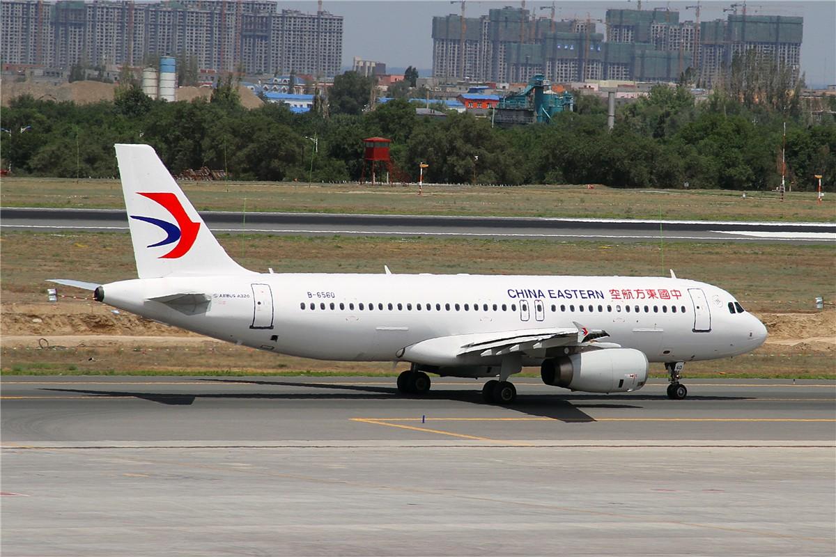 Re:[原创]URC AIRBUS A320-200 B-6560 中国乌鲁木齐地窝堡国际机场