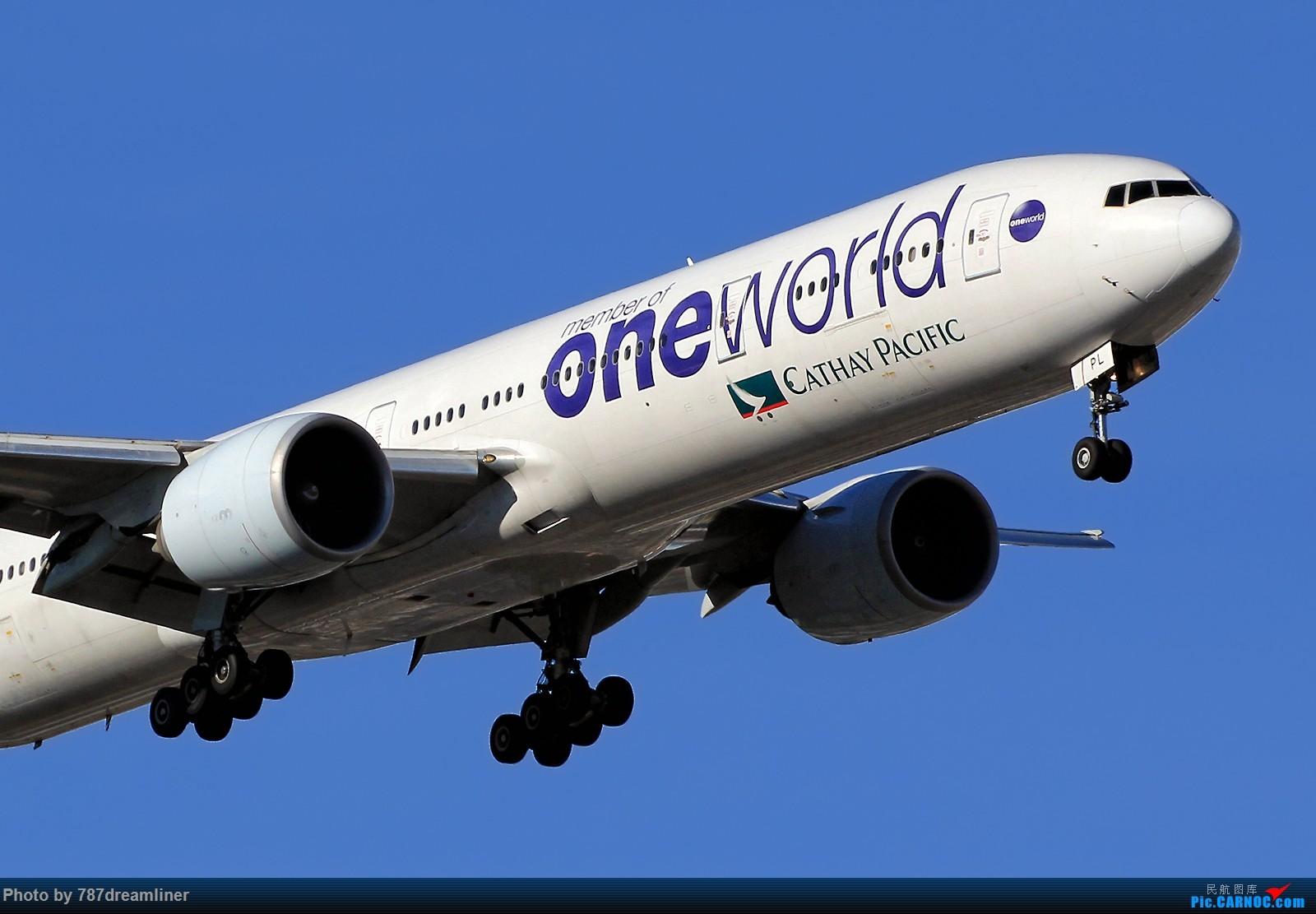 Re:【国泰航空77W组图】标涂、新装、彩绘,你更喜欢哪一个? BOEING 777-300ER B-KPL 美国芝加哥奥黑尔国际机场