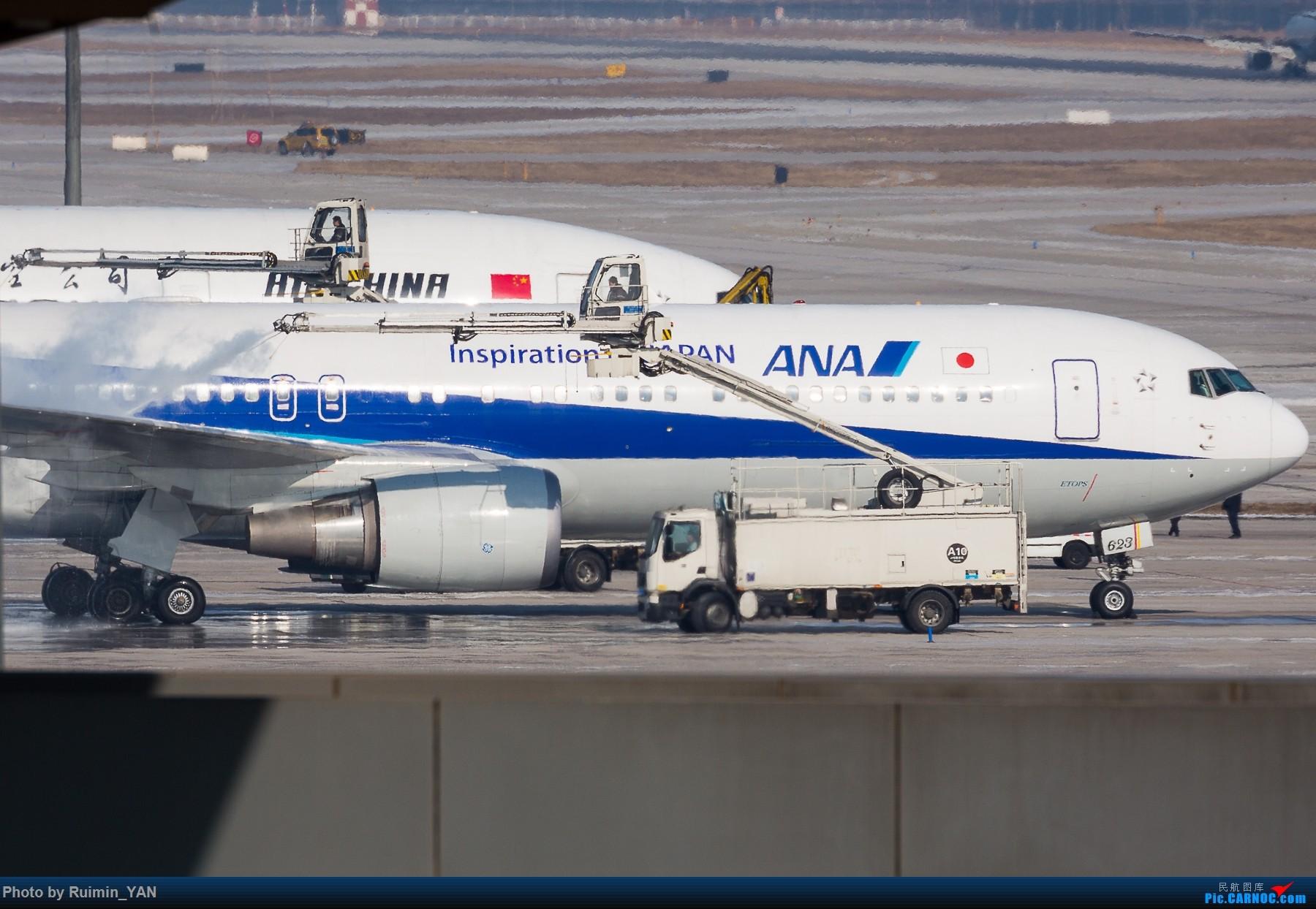 [原创]【PEK飞友会】除冰季 BOEING 767-300ER JA623A 中国北京首都国际机场