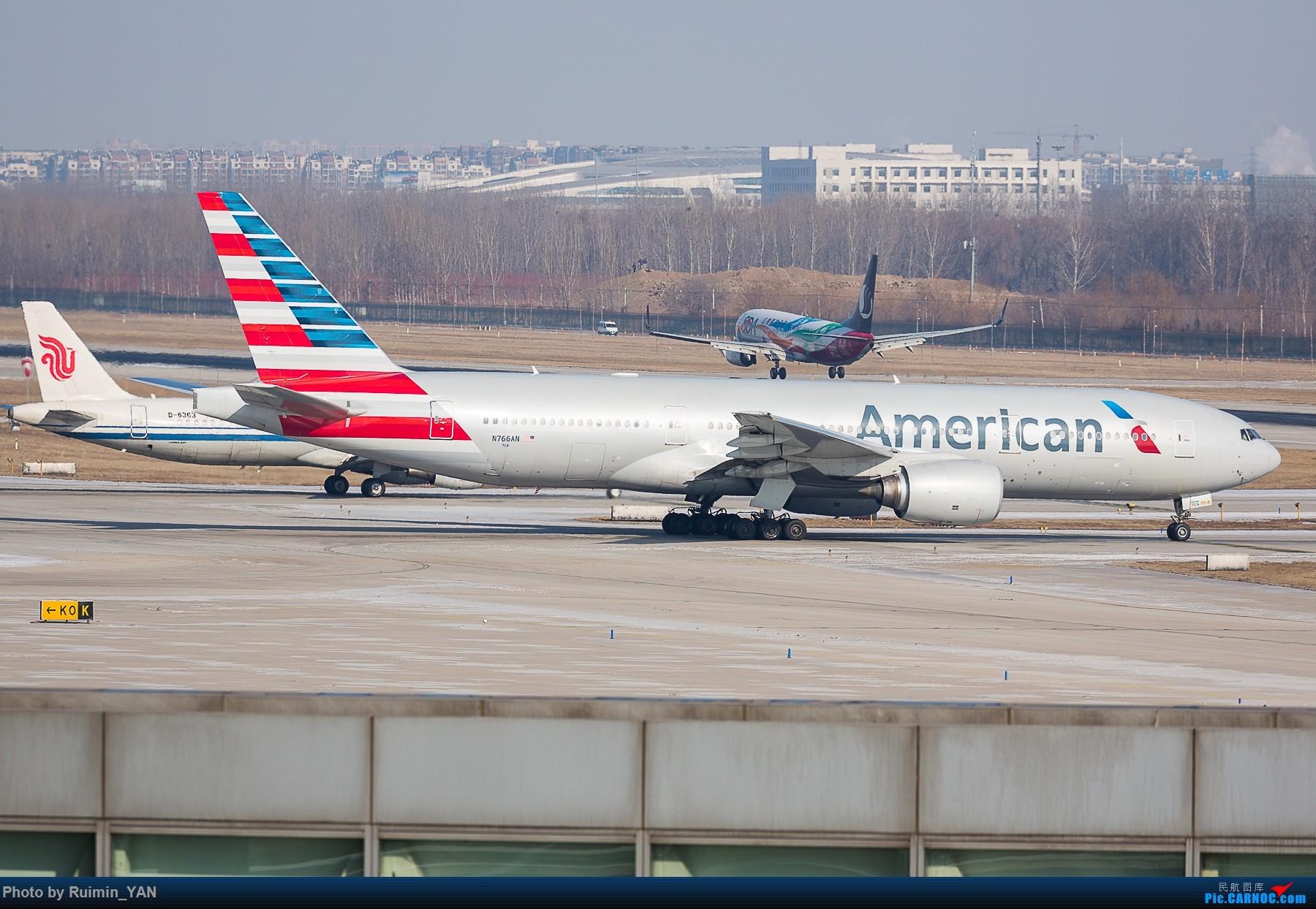 Re:[原创]【PEK飞友会】除冰季 BOEING 777-200ER N766AN 中国北京首都国际机场
