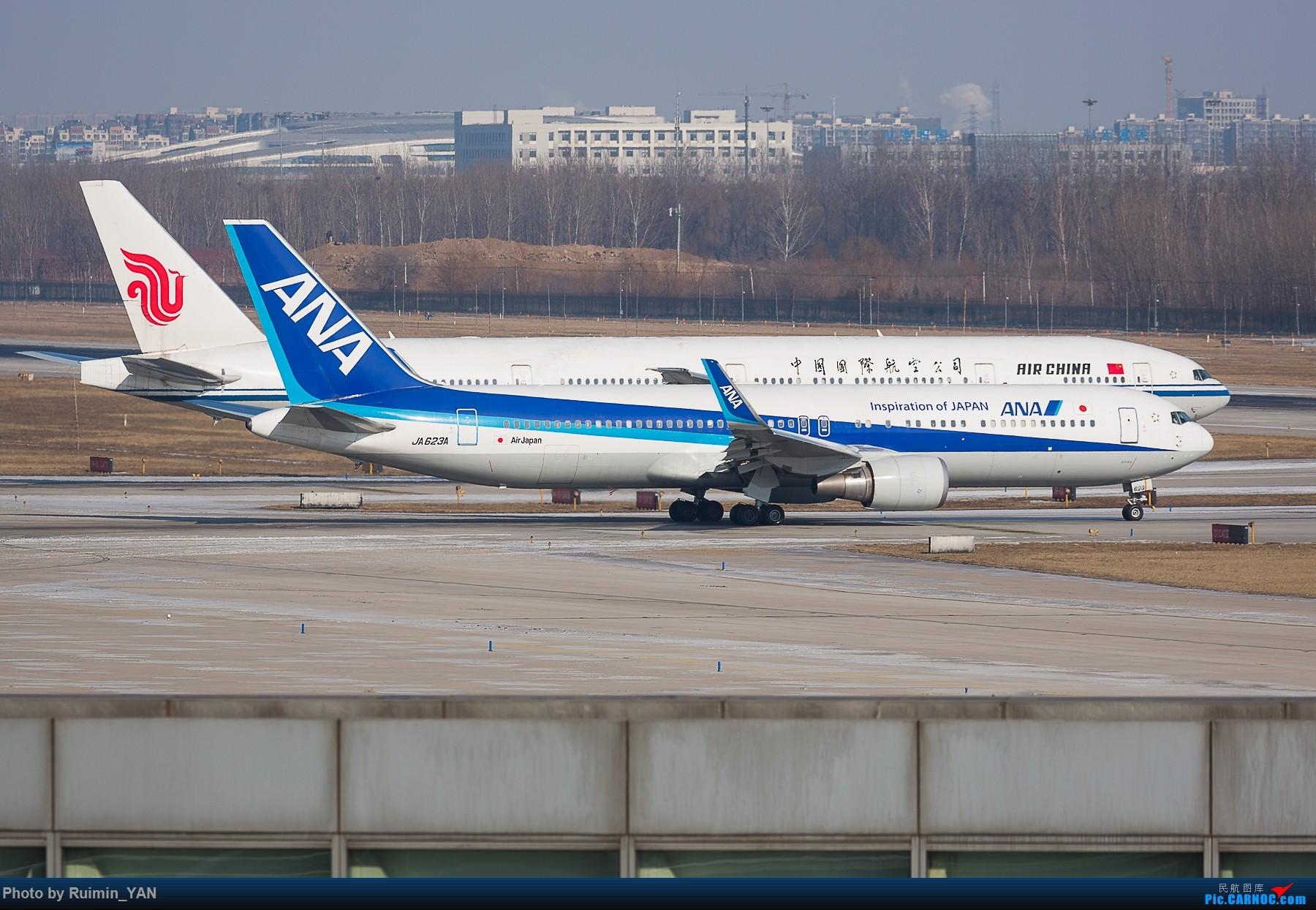 Re:[原创]【PEK飞友会】除冰季 BOEING 767-300ER JA632A 中国北京首都国际机场