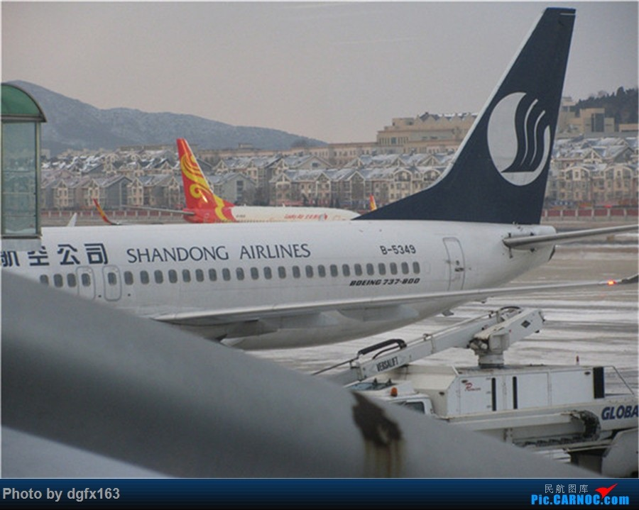 Re:[原创]【dgfx163的游记(6)】中国国际航空公司 B737-800 大连DLC-天津TSN CA952 擦航180特价飞,开启天津4日游! BOEING 737-800 B-5349 中国大连国际机场