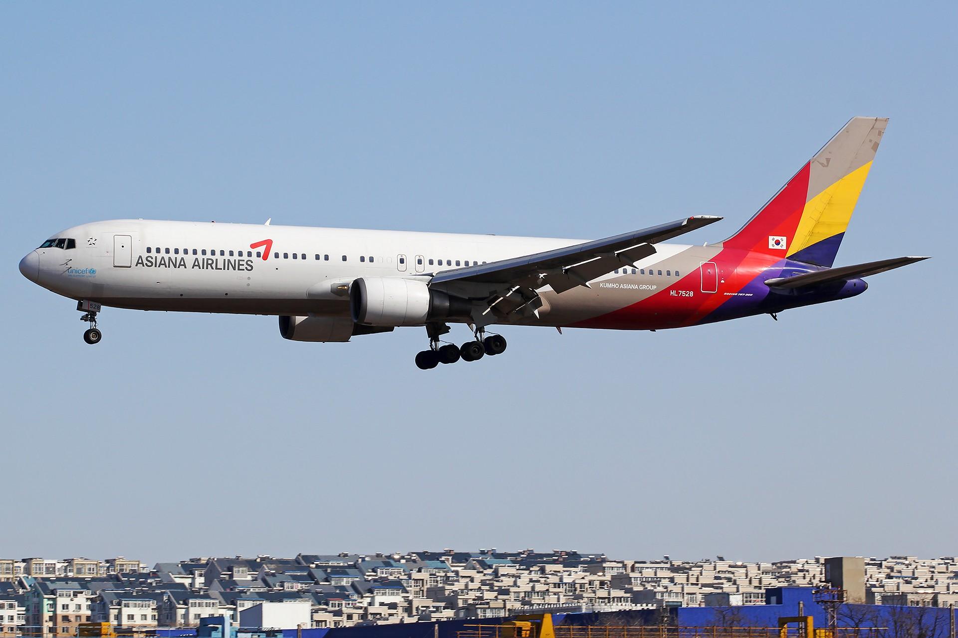 Re:[原创][原创][DLC]。。。春夏秋冬。。。 BOEING 767-300 HL7528 中国大连国际机场