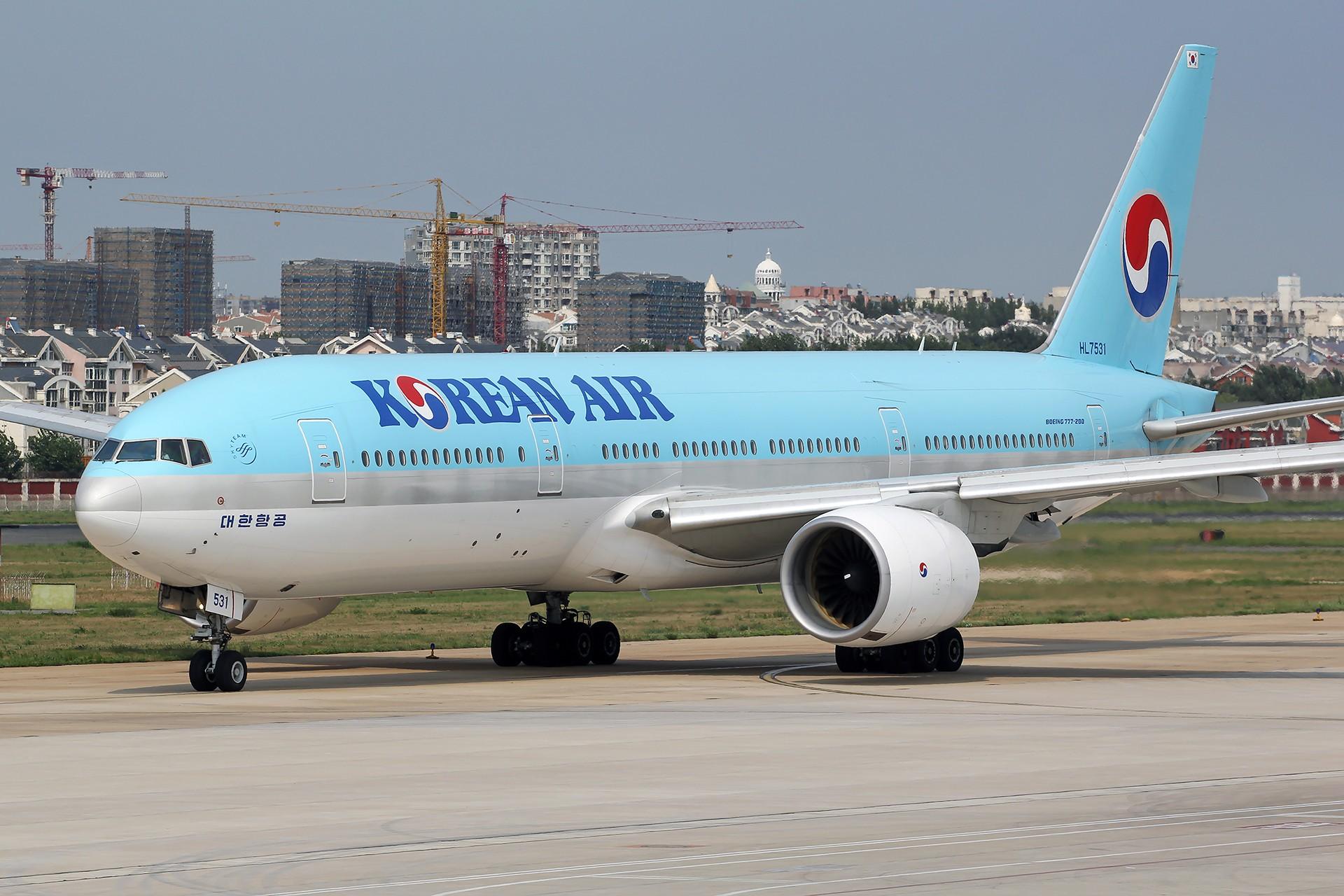 Re:[原创][原创][DLC]。。。春夏秋冬。。。 BOEING 777-200 HL7531 中国大连国际机场