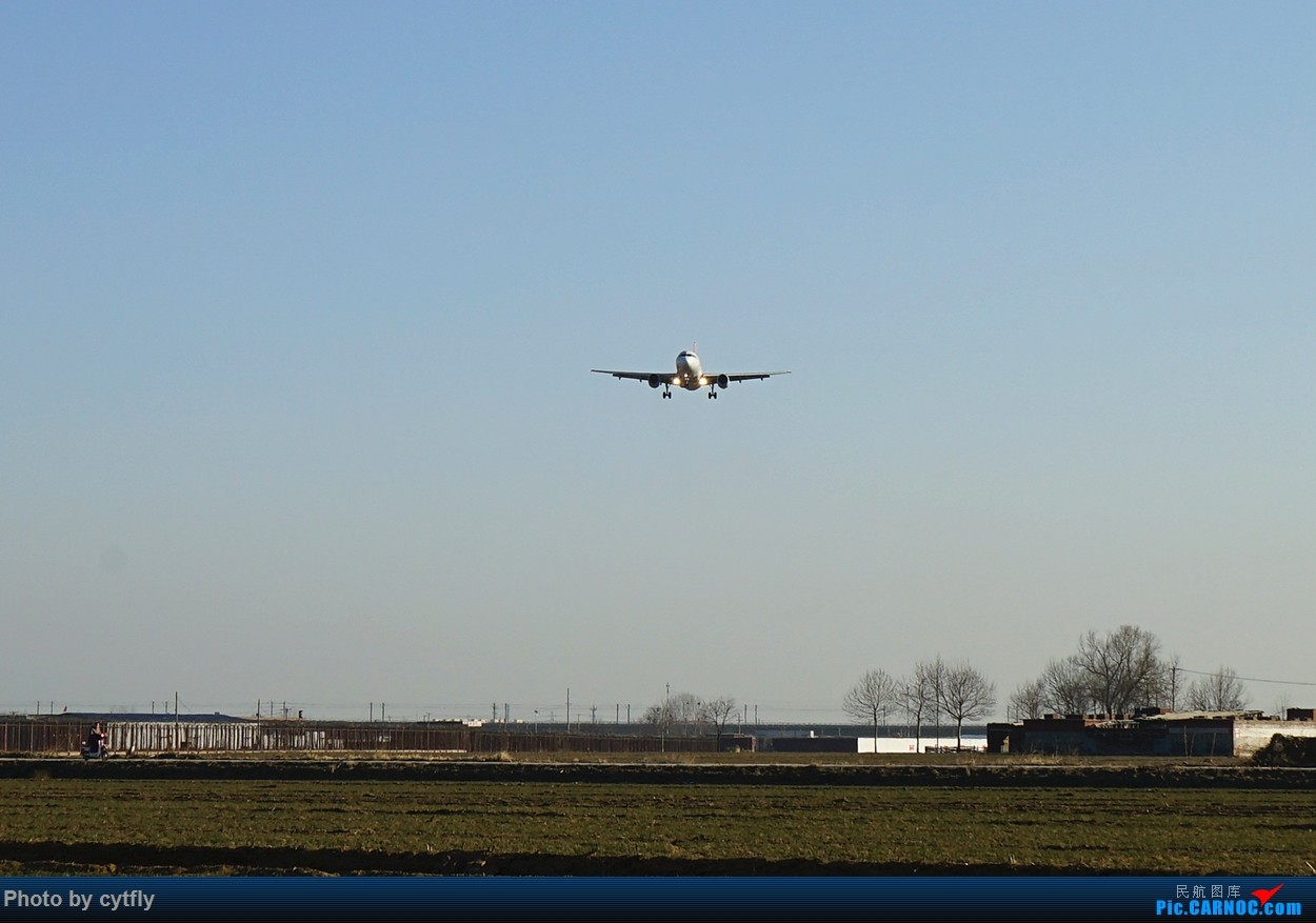 Re:[原创]2016第一拍---大风中的石家庄机场随手拍 AIRBUS A319-100 B-6181 中国石家庄正定国际机场