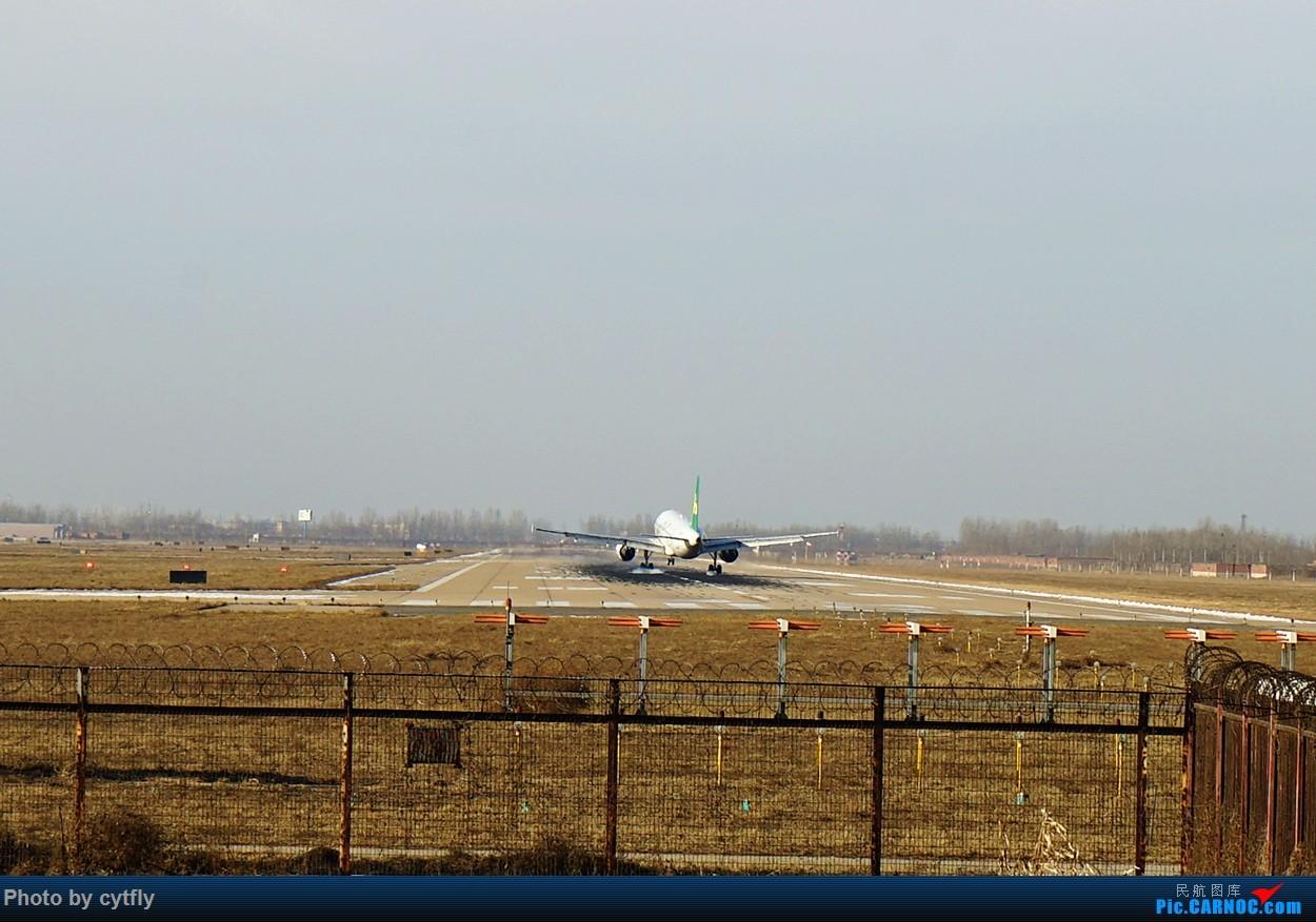Re:[原创]2016第一拍---大风中的石家庄机场随手拍 AIRBUS A320-200 B-6852 中国石家庄正定国际机场