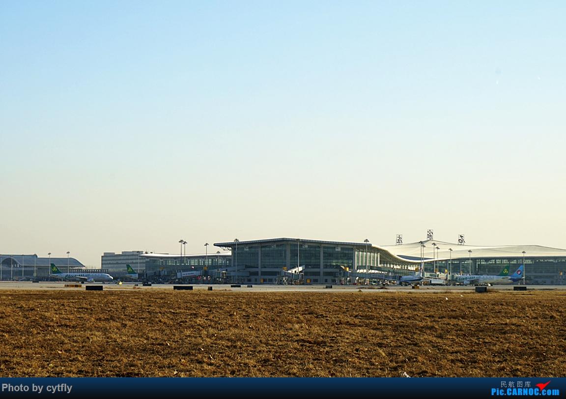 Re:[原创]2016第一拍---大风中的石家庄机场随手拍    中国石家庄正定国际机场