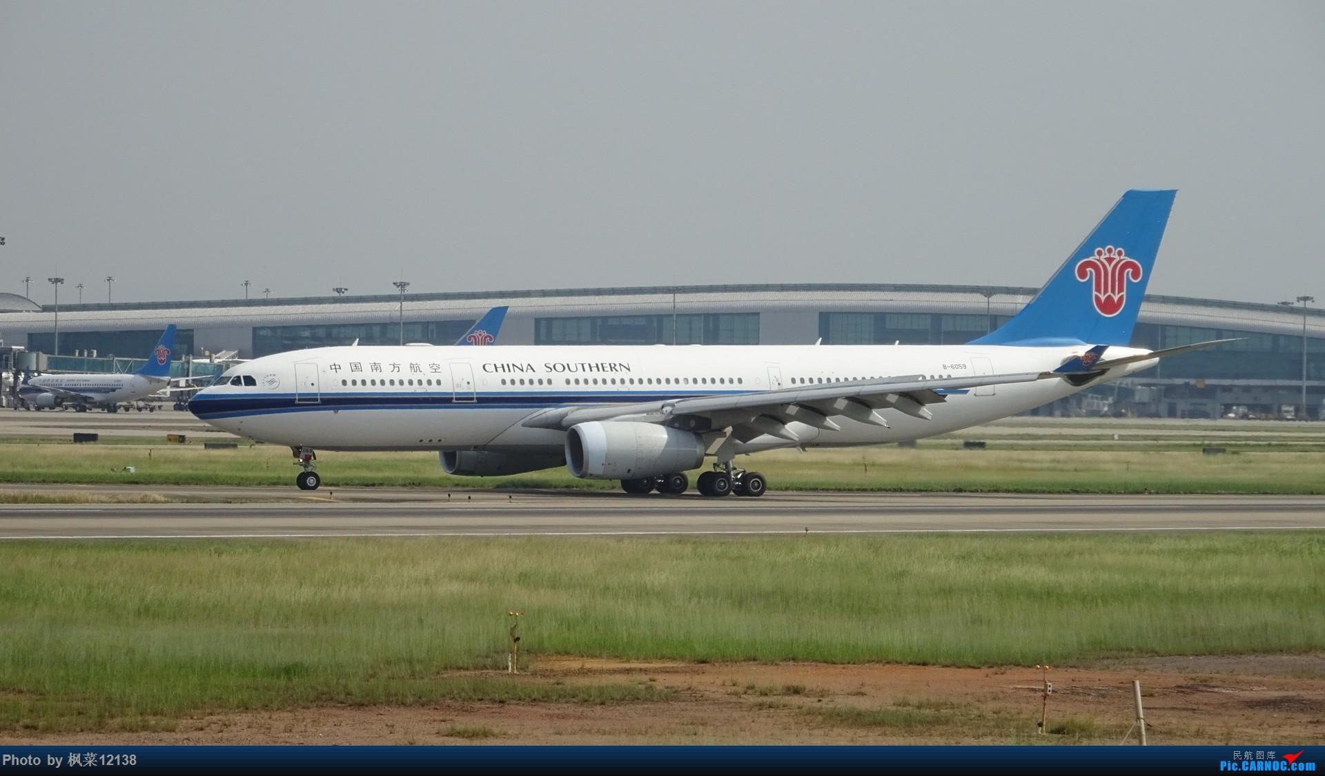 [原创][多图党]广州白云机场杂拍 airbus a330-200 b-6059 中国广州图片