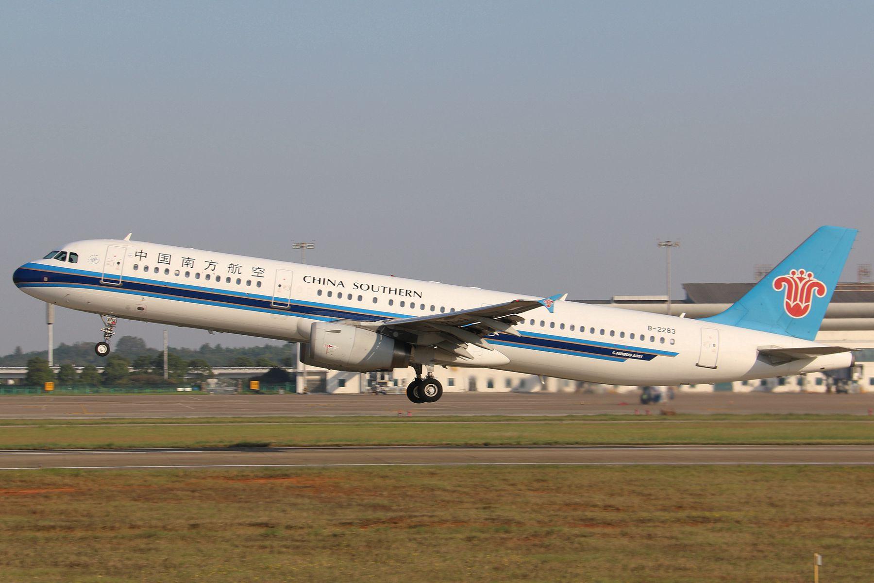 Re:[原创]B-2283昌北好天气里的起飞【Take off】---------------- AIRBUS A321-200 B-2283 中国南昌昌北国际机场