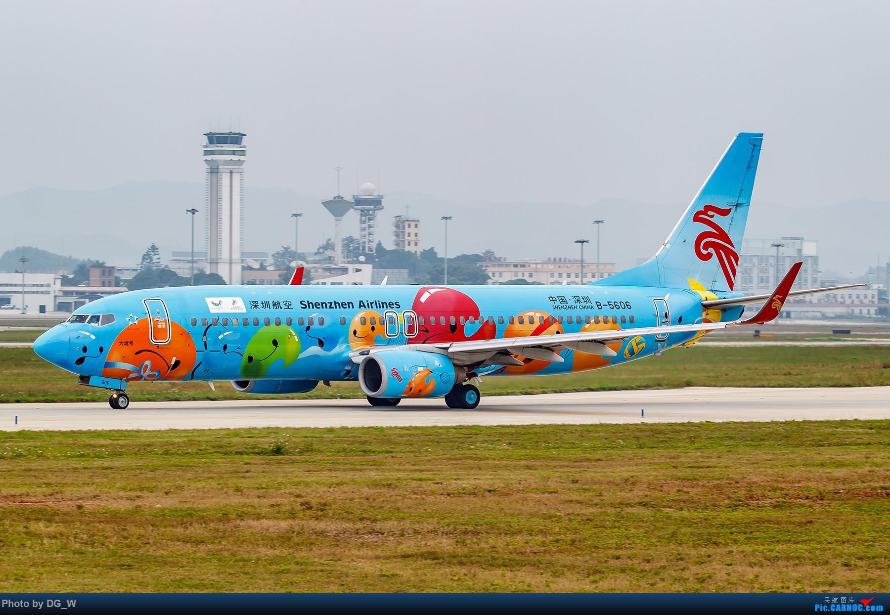Re:[原创]【南宁飞友】集齐南航邮戳738,外加最近半年拍的部分彩绘 BOEING 737-800 B-5606 中国南宁吴圩国际机场