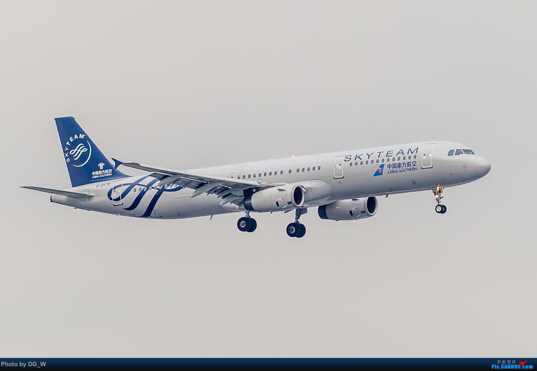 Re:[原创]【南宁飞友】集齐南航邮戳738,外加最近半年拍的部分彩绘 AIRBUS A321-200 B-6578 中国上海虹桥国际机场