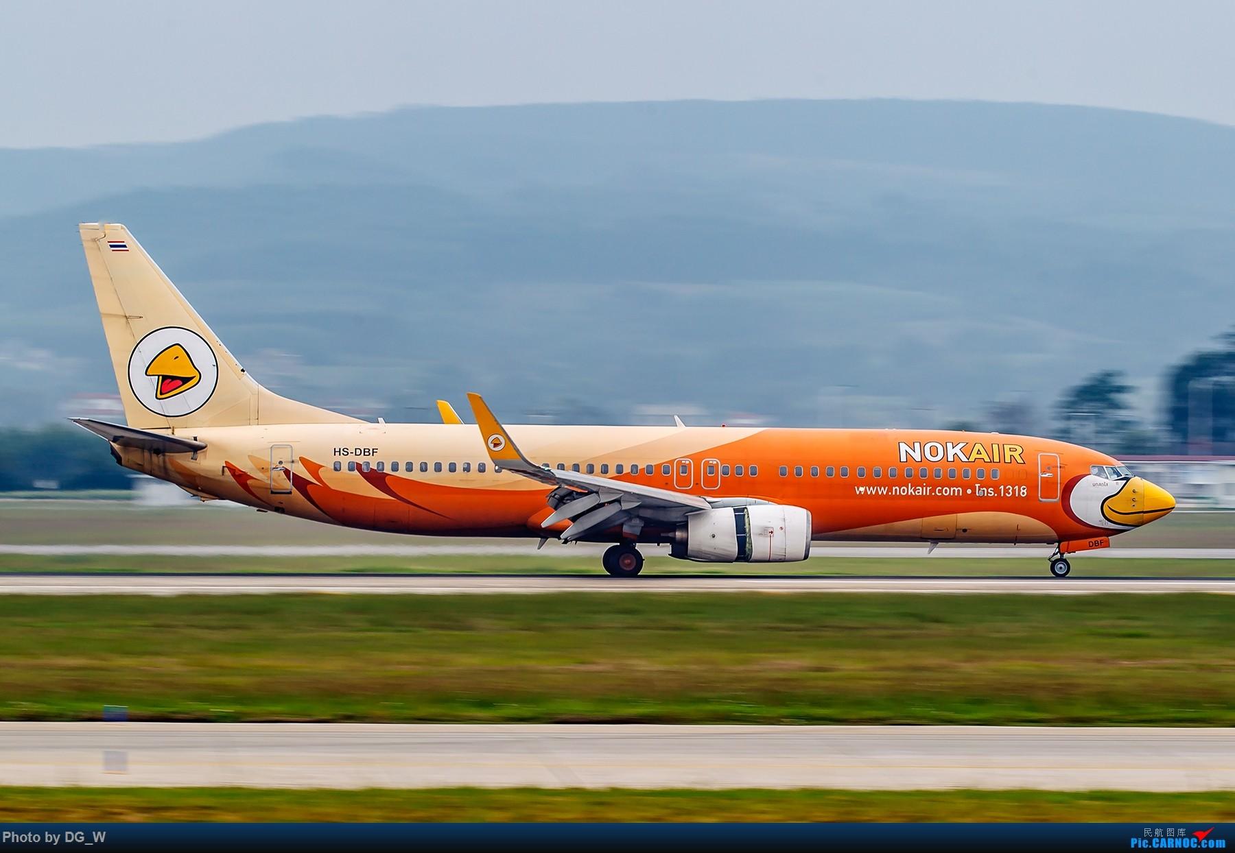 Re:[原创]【南宁飞友】集齐南航邮戳738,外加最近半年拍的部分彩绘 BOEING 737-800 HS-DBF 中国南宁吴圩国际机场