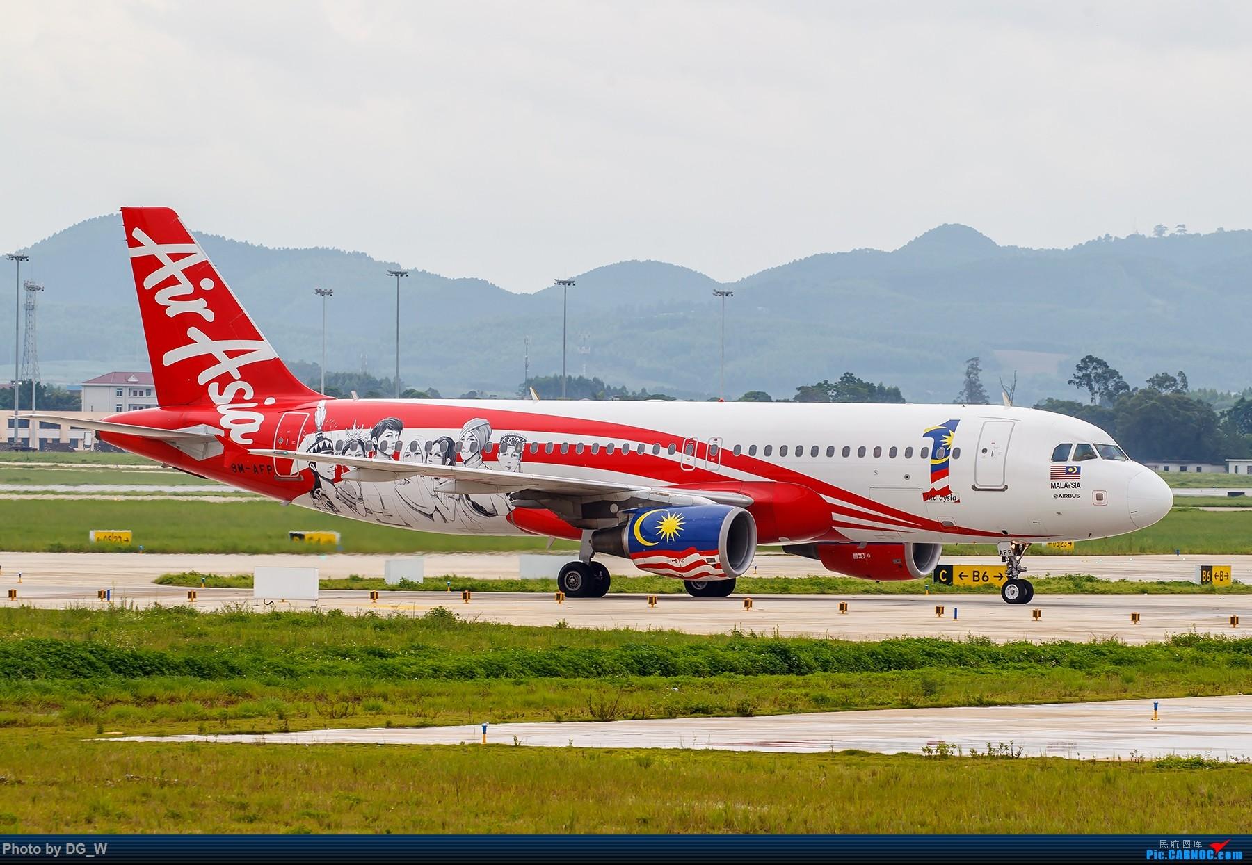 Re:[原创]【南宁飞友】集齐南航邮戳738,外加最近半年拍的部分彩绘 AIRBUS A320-200 9M-AFP 中国南宁吴圩国际机场
