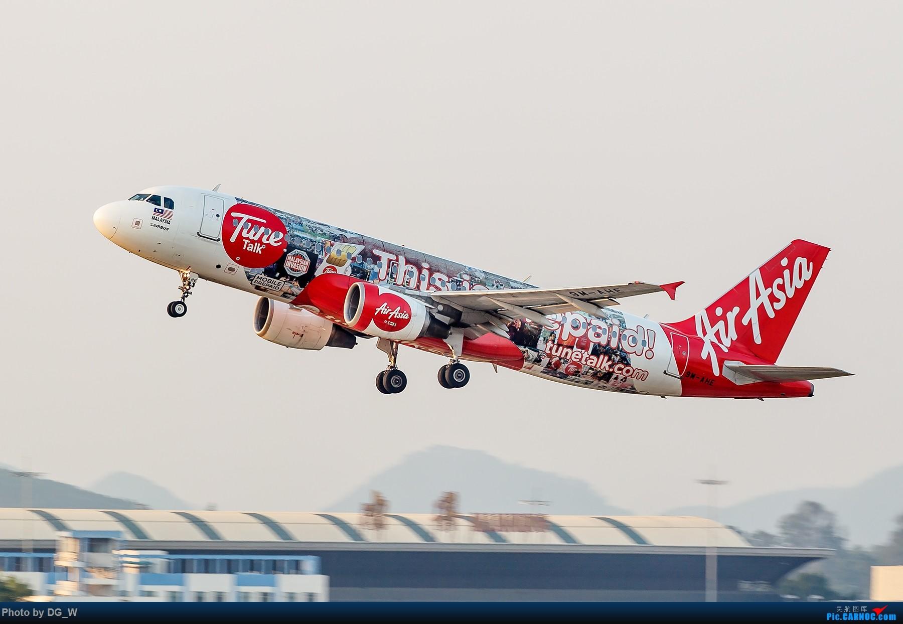 Re:[原创]【南宁飞友】集齐南航邮戳738,外加最近半年拍的部分彩绘 AIRBUS A320-200 9M-AHE 中国南宁吴圩国际机场