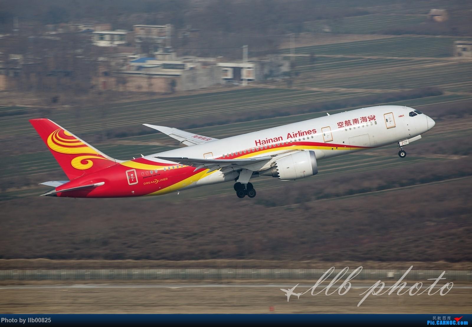 [原创]XIY—几张杂图 BOEING 787-8 B-2728 中国西安咸阳国际机场