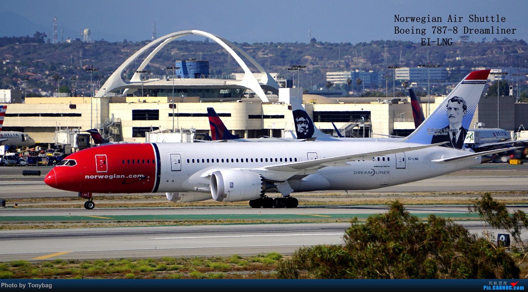 Re:【北美飞友会】#那些年拍过的飞机 BOEING 787-8 EI-LNG 洛杉矶国际机场