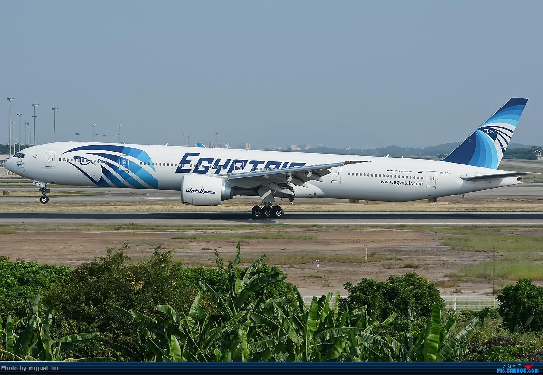 Re:[*********Miguel_liu********]  刷些老图 BOEING 777-300ER SU-GDO 中国广州白云国际机场