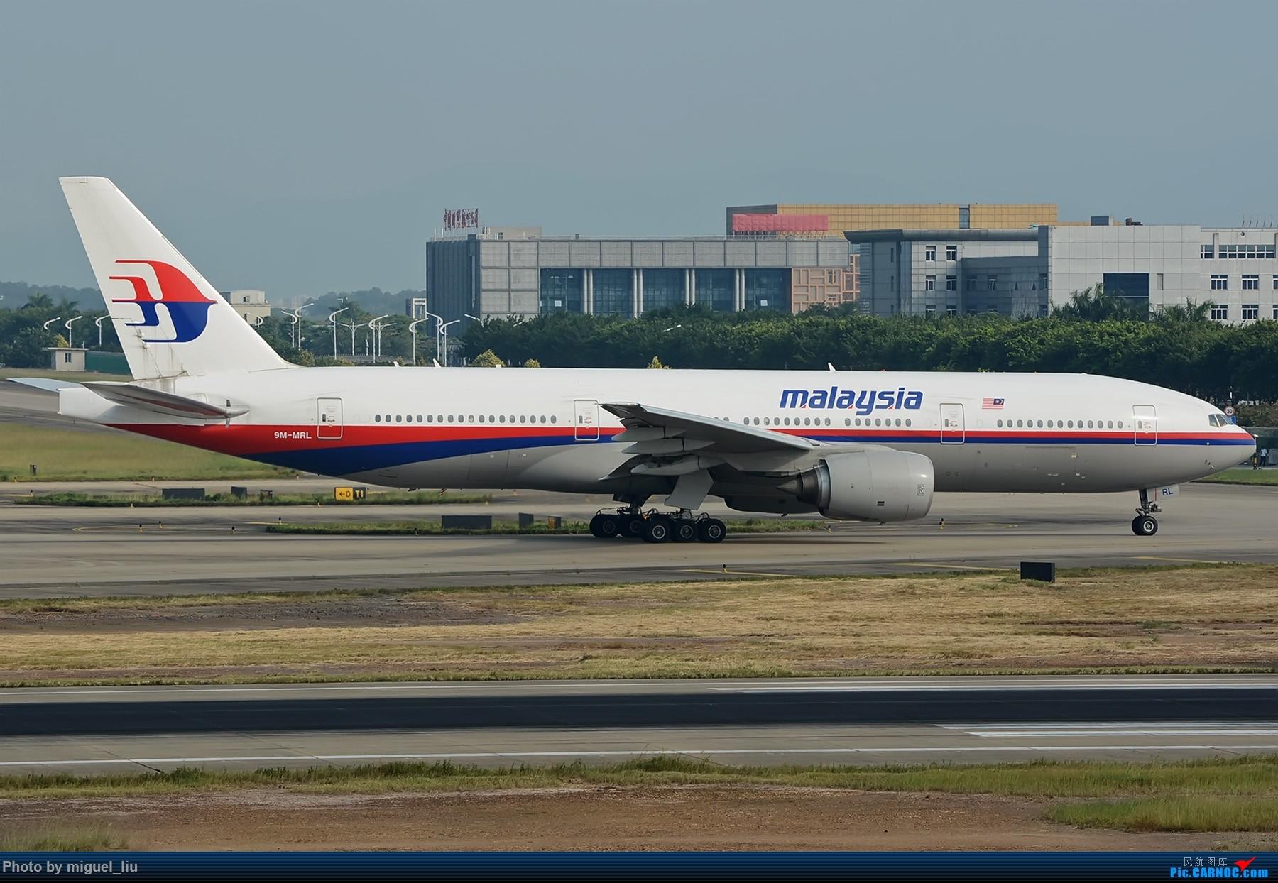 Re:[原创][*********Miguel_liu********]  刷些老图 BOEING 777-200ER 9M-MRL 中国广州白云国际机场