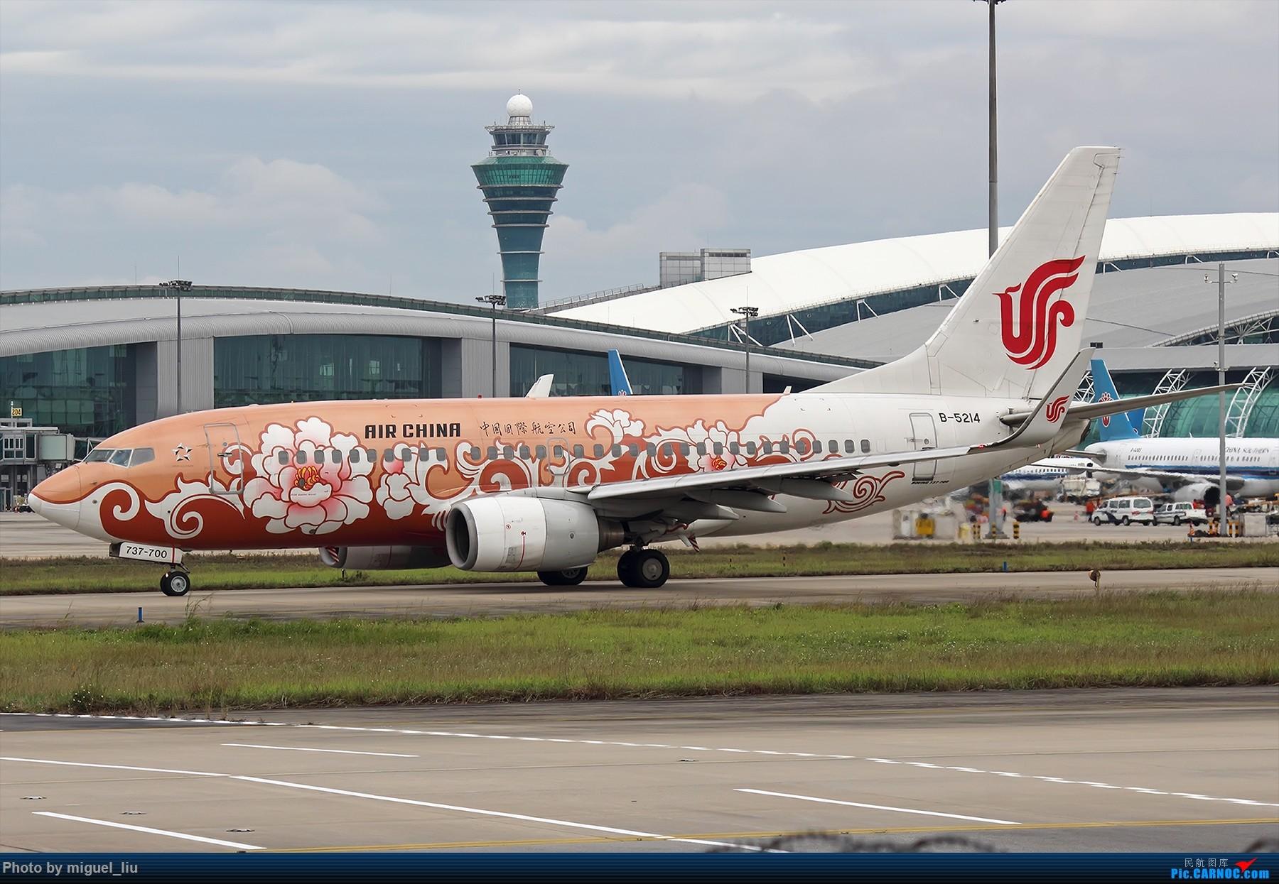 Re:[原创][*********Miguel_liu********]  刷些老图 BOEING 737-700 B-5214 中国广州白云国际机场