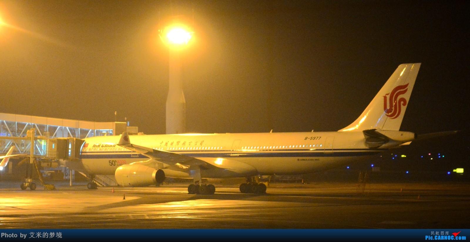 Re:[原创]【carnoc重庆飞友会】春运辣么忙,我想去拍拍。天气那么烂,技术也不好。 AIRBUS A330-300 B-5977 中国重庆江北国际机场