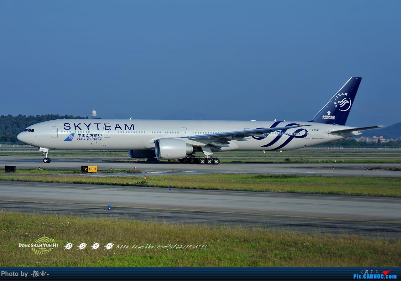 Re:[原创]我的打灰机心情[广州] BOEING 777-300ER B-2049 中国广州白云国际机场