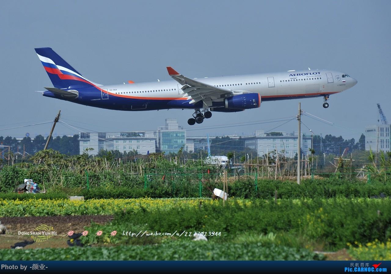 Re:[原创]我的打灰机心情[广州] AIRBUS A330-300 VQ-BEK 中国广州白云国际机场