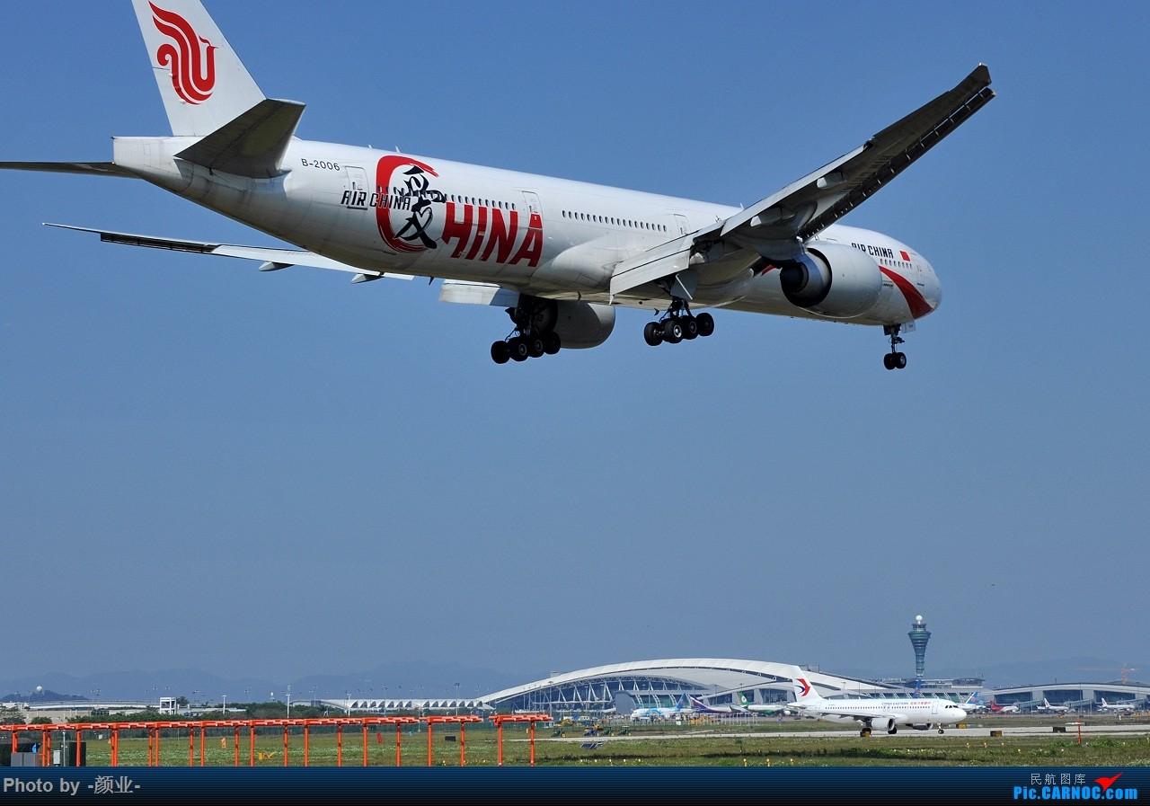 Re:[原创]我的打灰机心情[广州] BOEING 777-300ER B-2006 中国广州白云国际机场