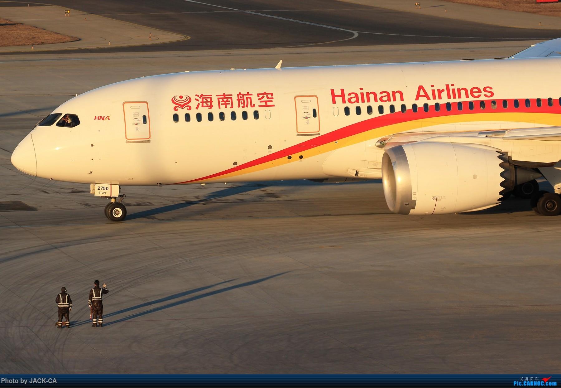 Re:[原创]【组图】北京拍机之苏活视角 BOEING 787-8 B-2750 中国北京首都国际机场