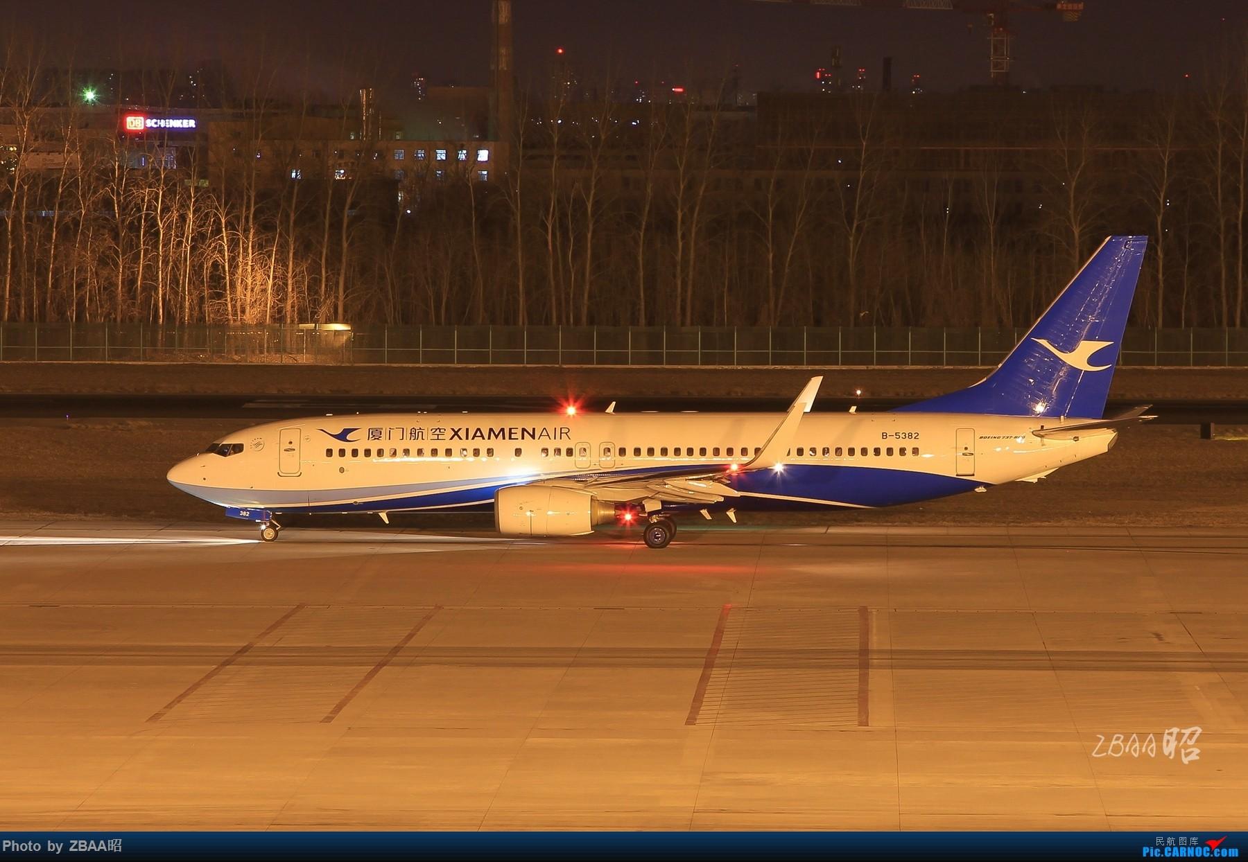 Re:[原创]飞友聚会后的独自疯狂,格林豪泰隔天怒打ZBAA 36L跑道,夜拍海航宽体机,寒风中坚守楼顶阵地 BOEING 737-800 B-5382 中国北京首都国际机场