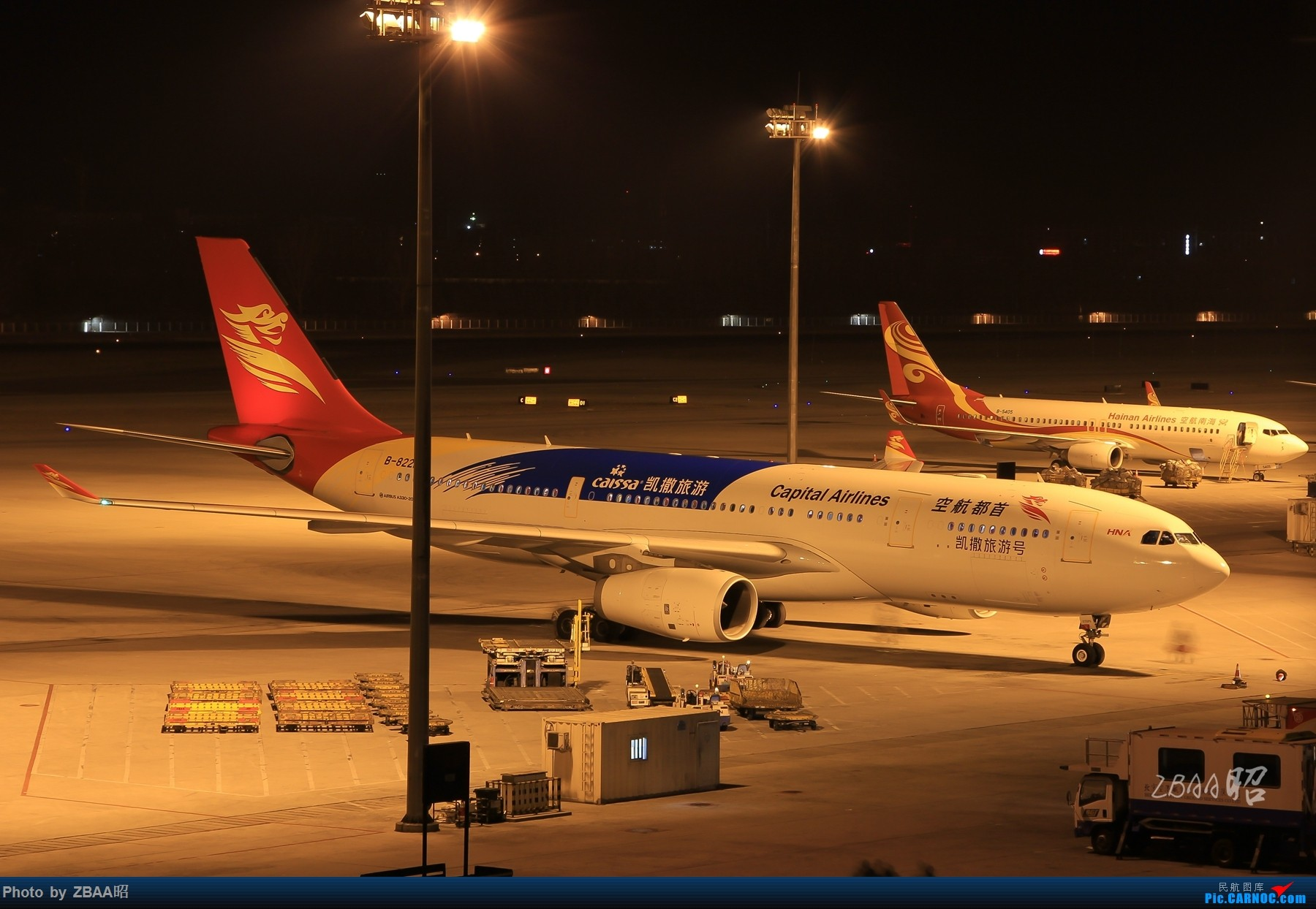 Re:[原创]飞友聚会后的独自疯狂,格林豪泰隔天怒打ZBAA 36L跑道,夜拍海航宽体机,寒风中坚守楼顶阵地 AIRBUS A330-200 B-8221 中国北京首都国际机场