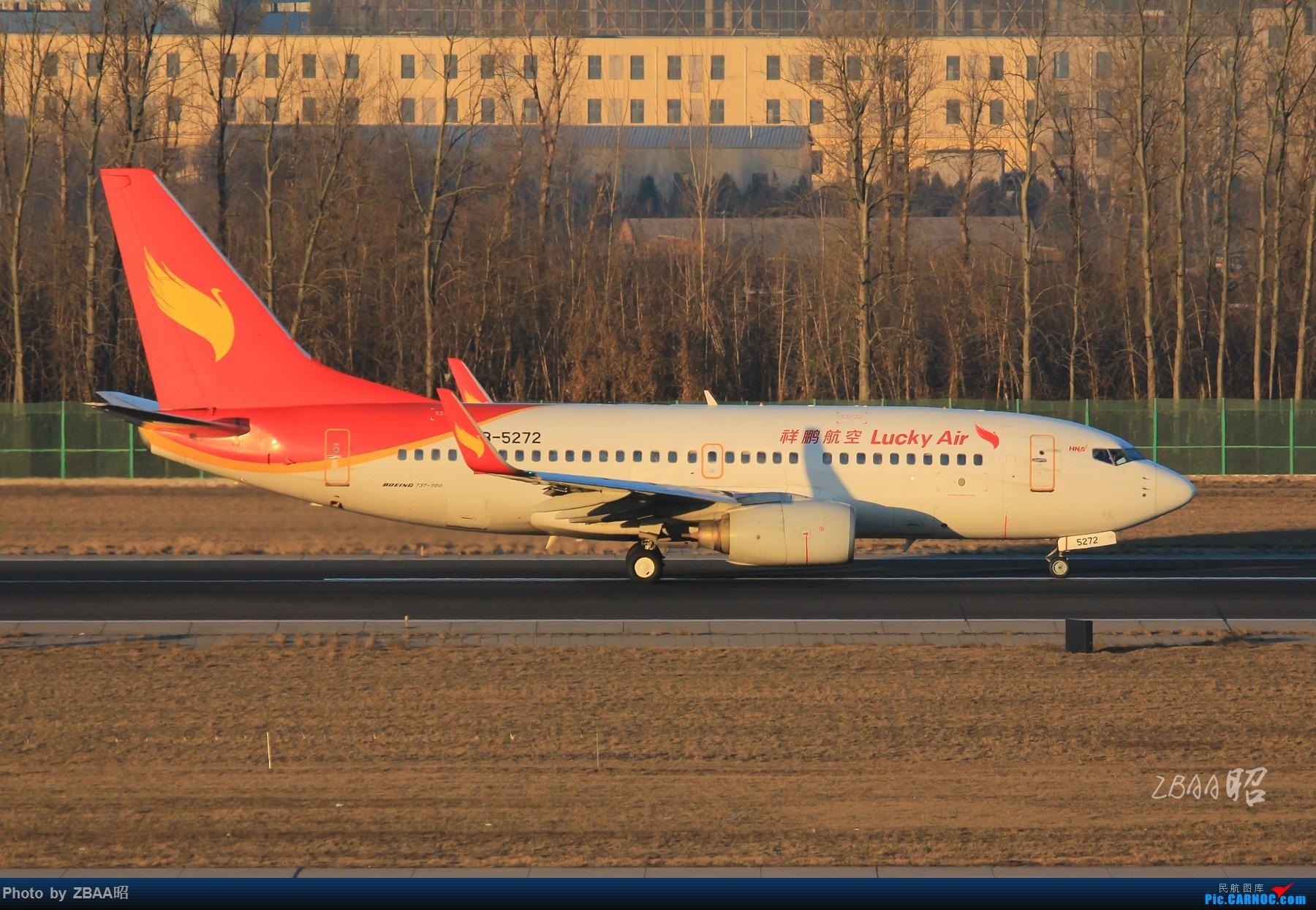 Re:[原创]飞友聚会后的独自疯狂,格林豪泰隔天怒打ZBAA 36L跑道,夜拍海航宽体机,寒风中坚守楼顶阵地 BOEING 737-700 B-5272 中国北京首都国际机场